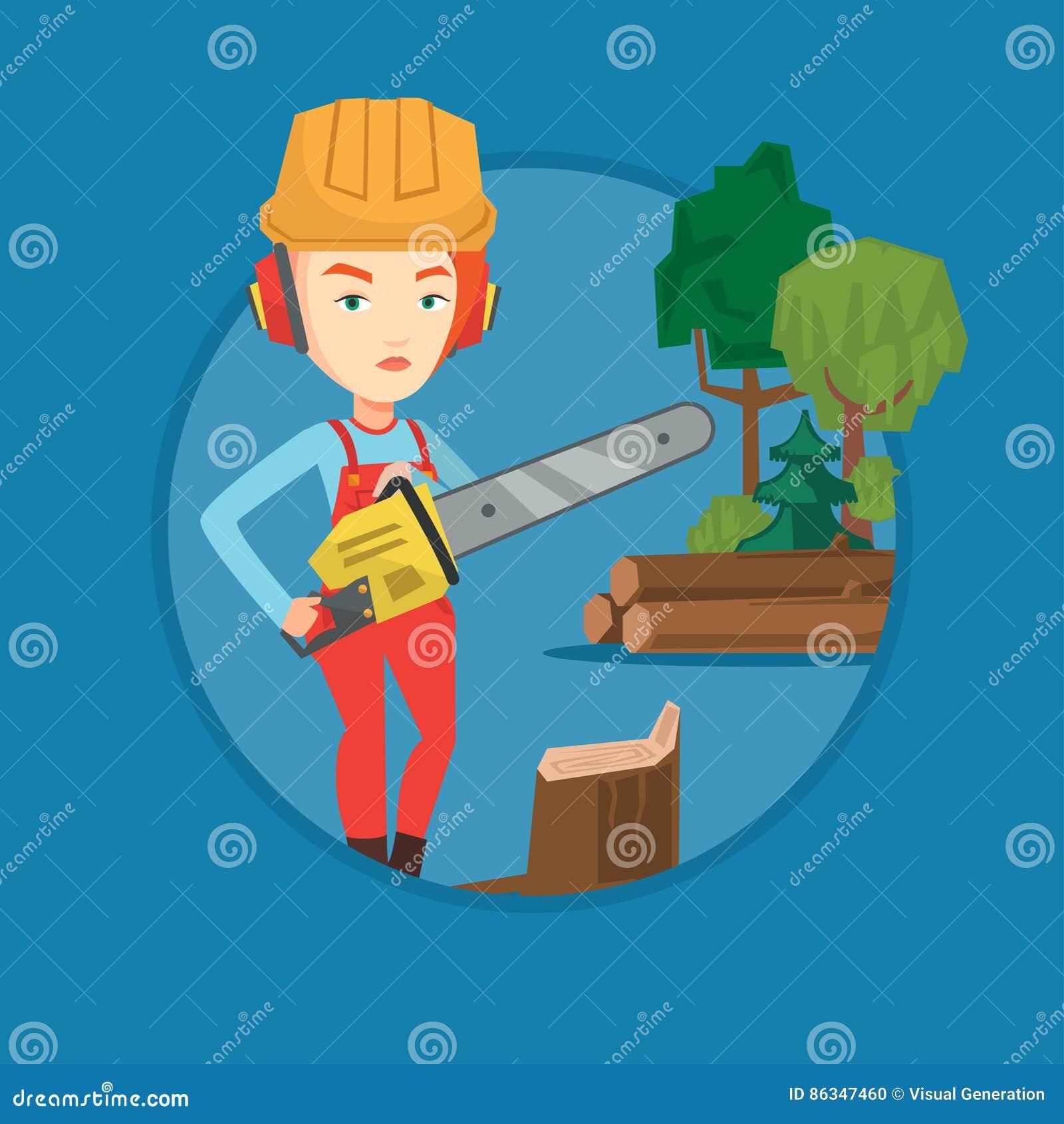 Lumberjack clipart female, Lumberjack female Transparent FREE for download  on WebStockReview 2020