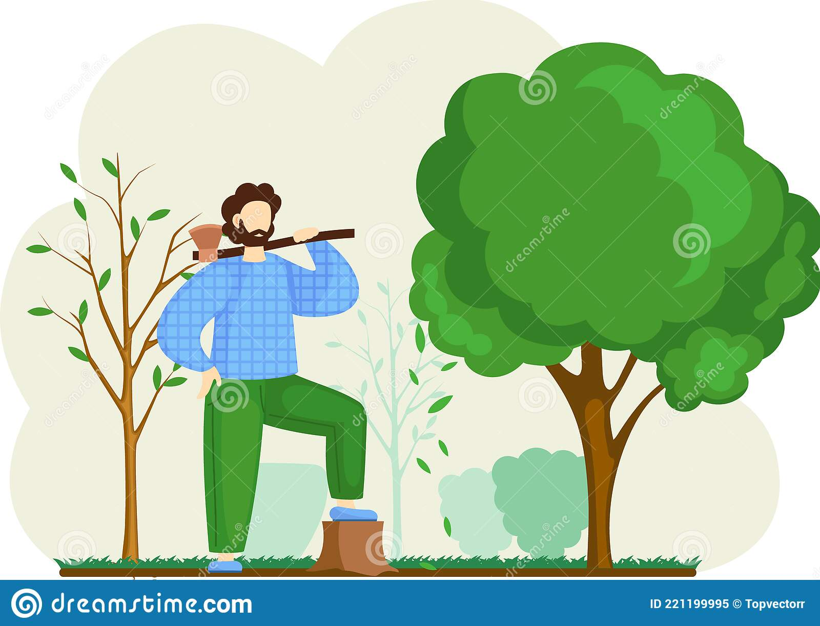 Forest Cutting Stock Illustrations 2 873 Forest Cutting Stock Illustrations Vectors Clipart Dreamstime