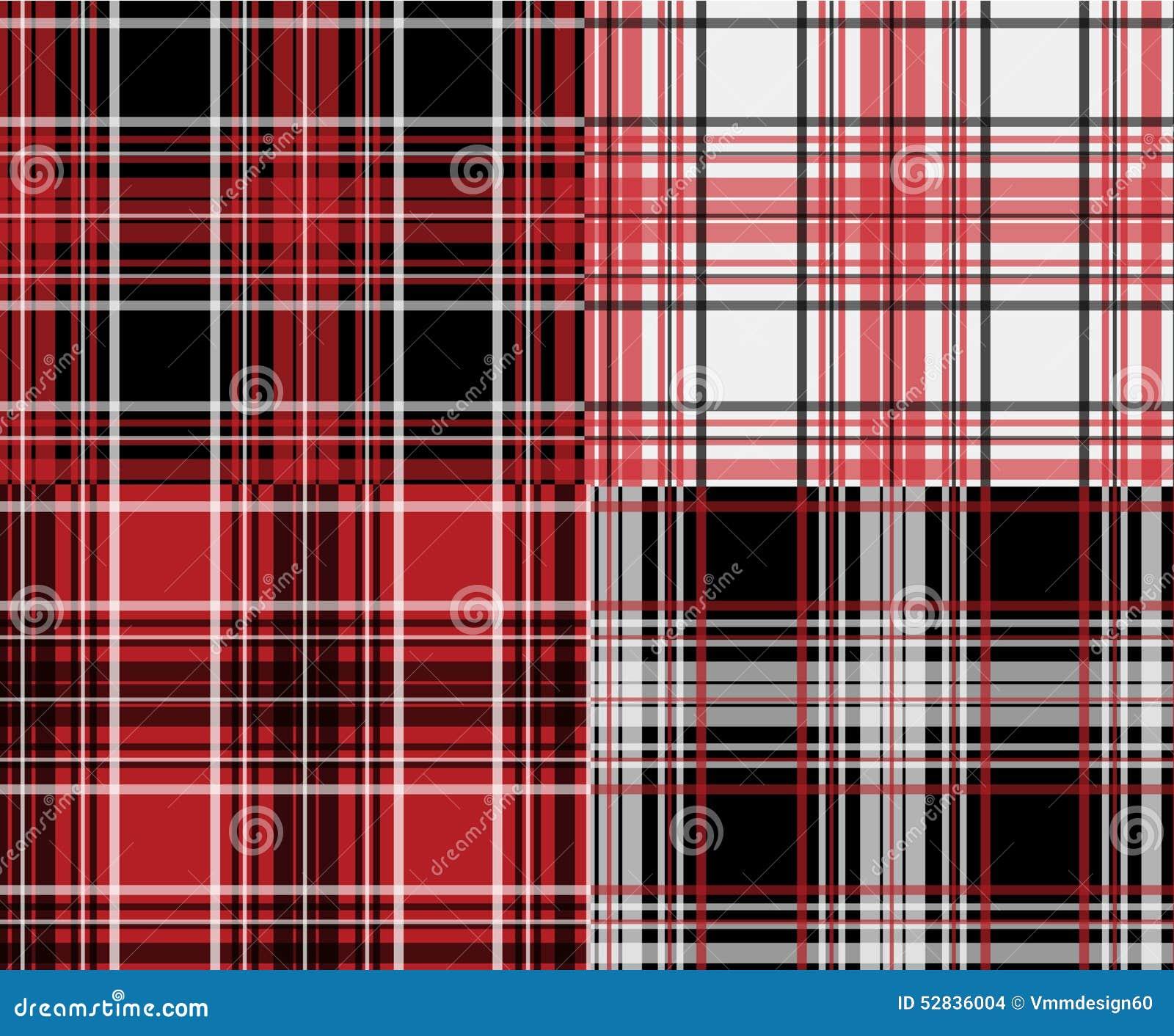 Lumberjack Plaid Textile Graphic Seamless Woven Design