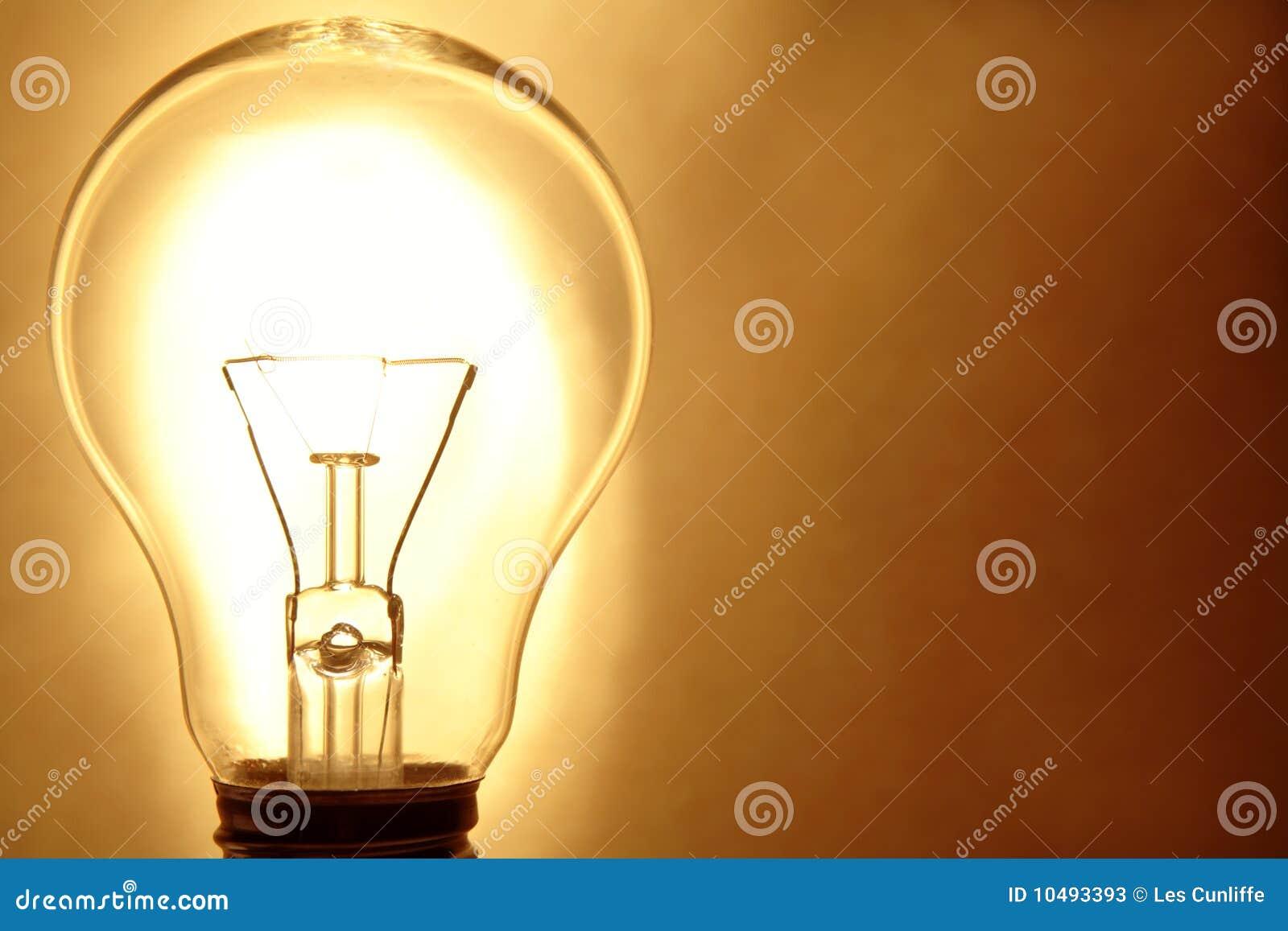 Lumière d ampoule