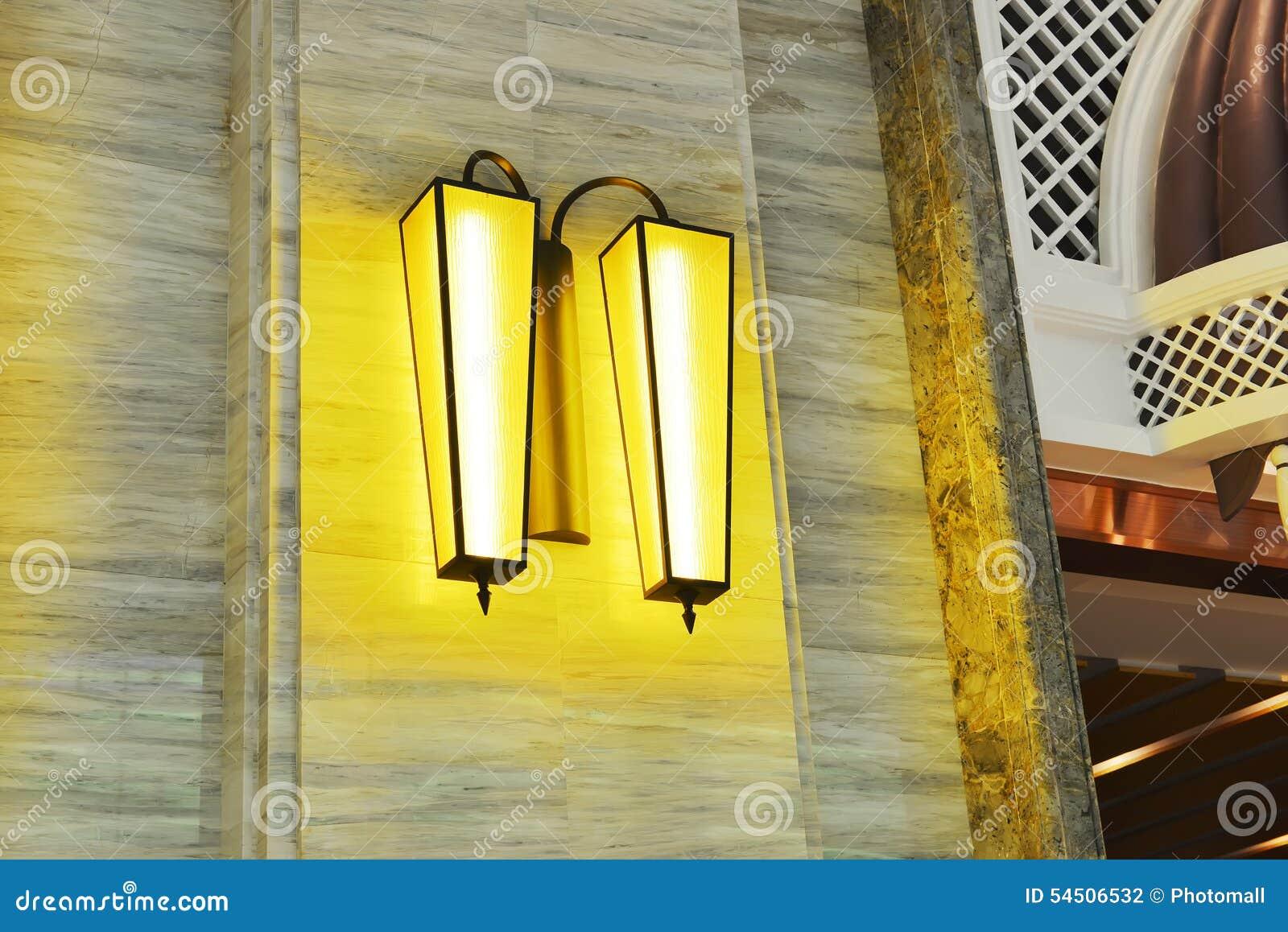 Lumière de luxe de mur