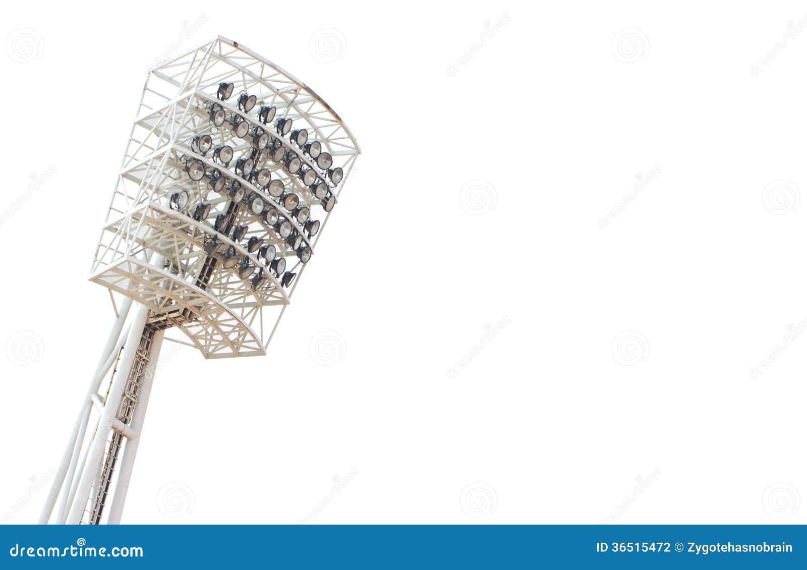 Lumière de stade.