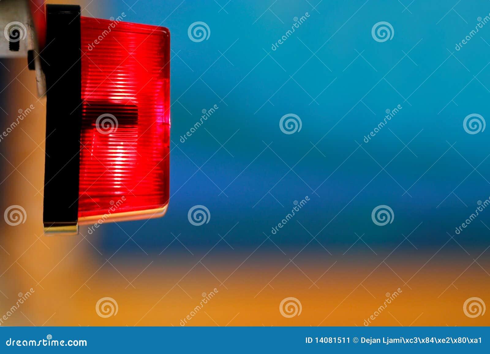 Voyage de lumière rouge