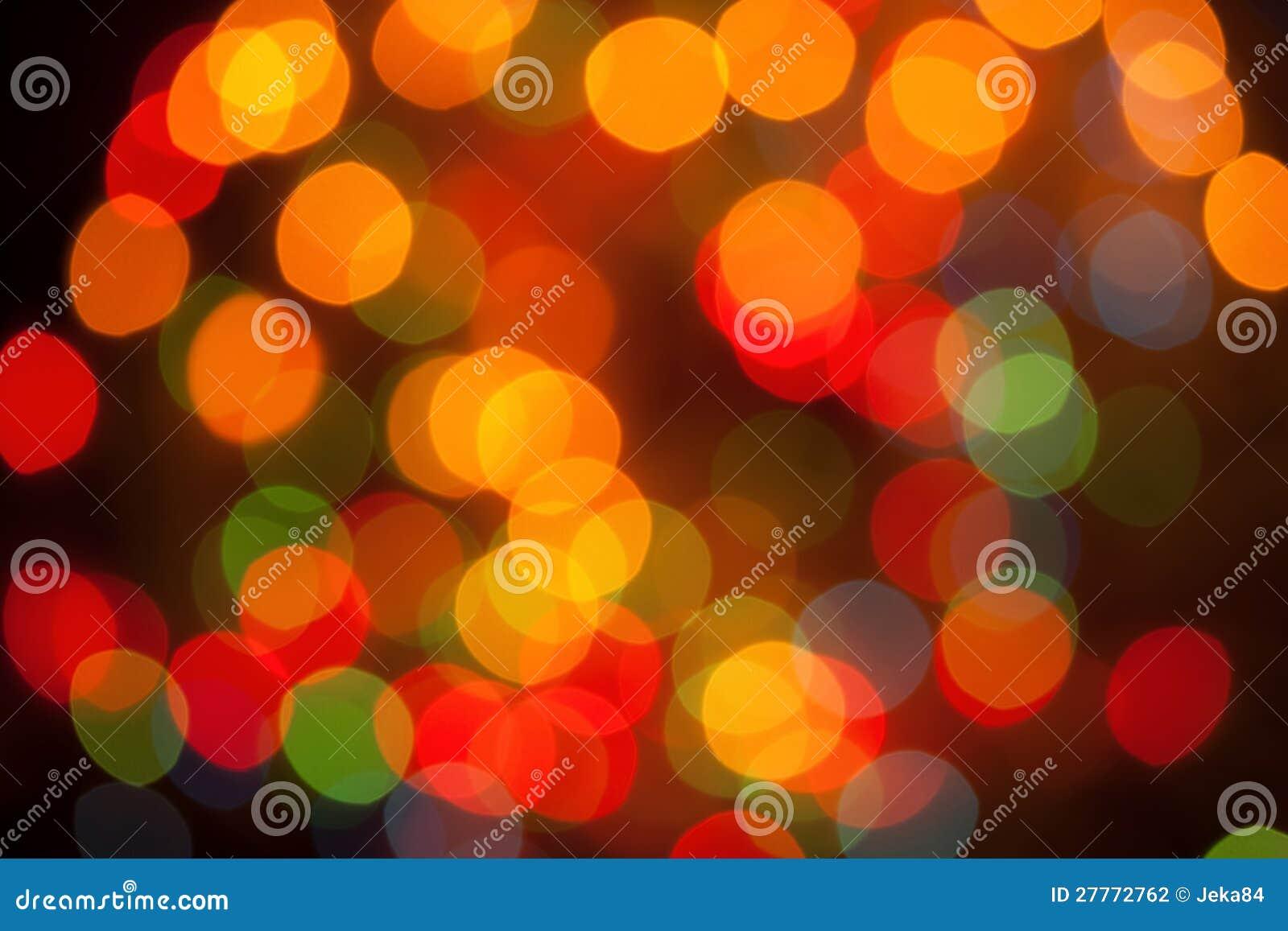 Lumières abstraites Defocused