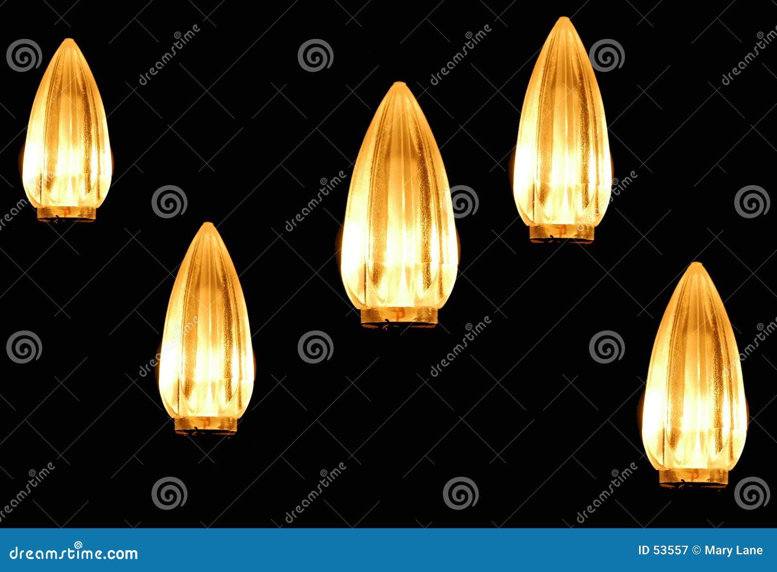 Lumières dans la densité