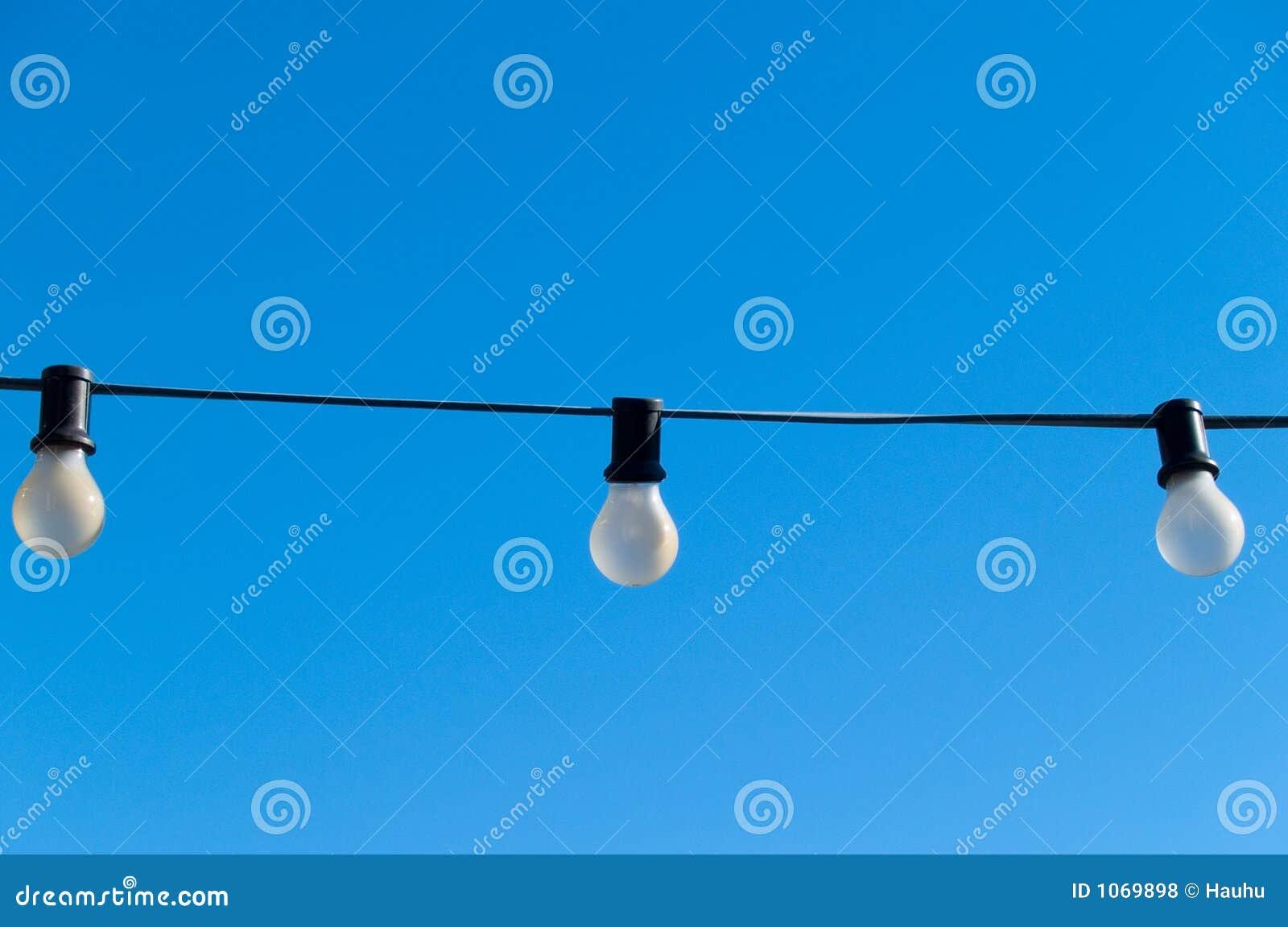 Lumières dans le ciel