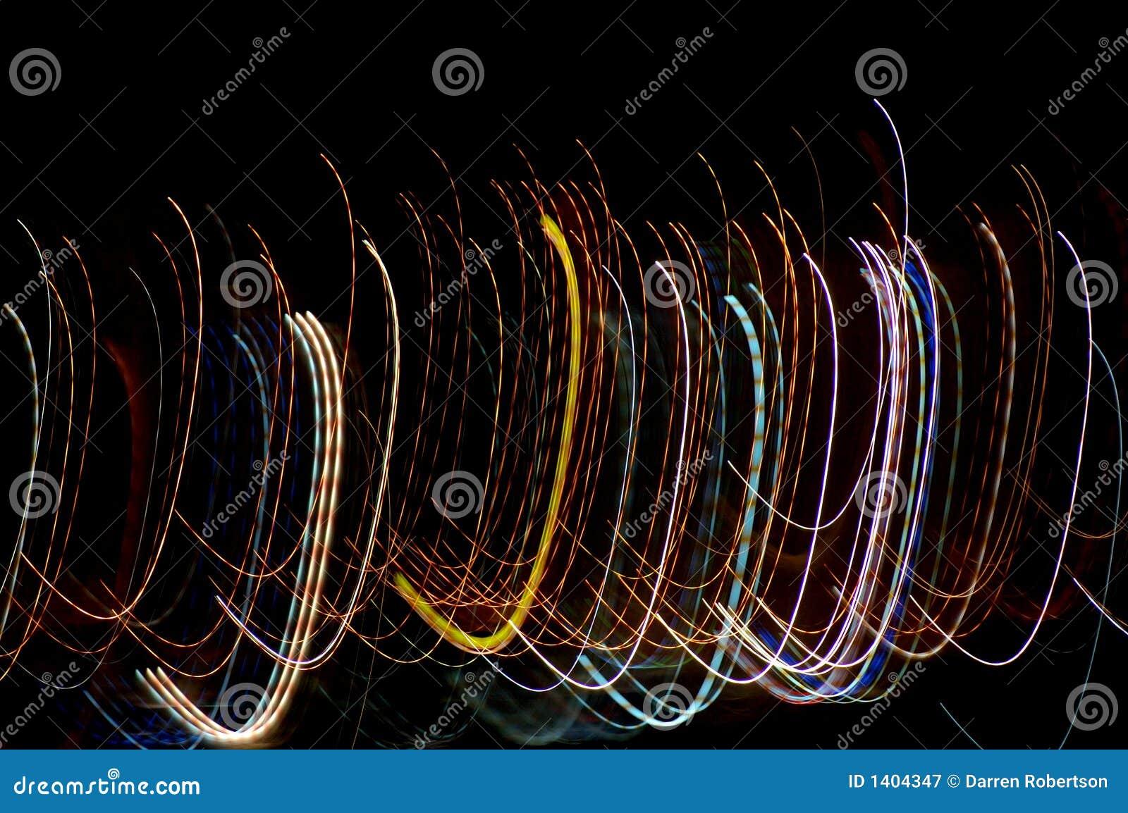 Lumières de courbement