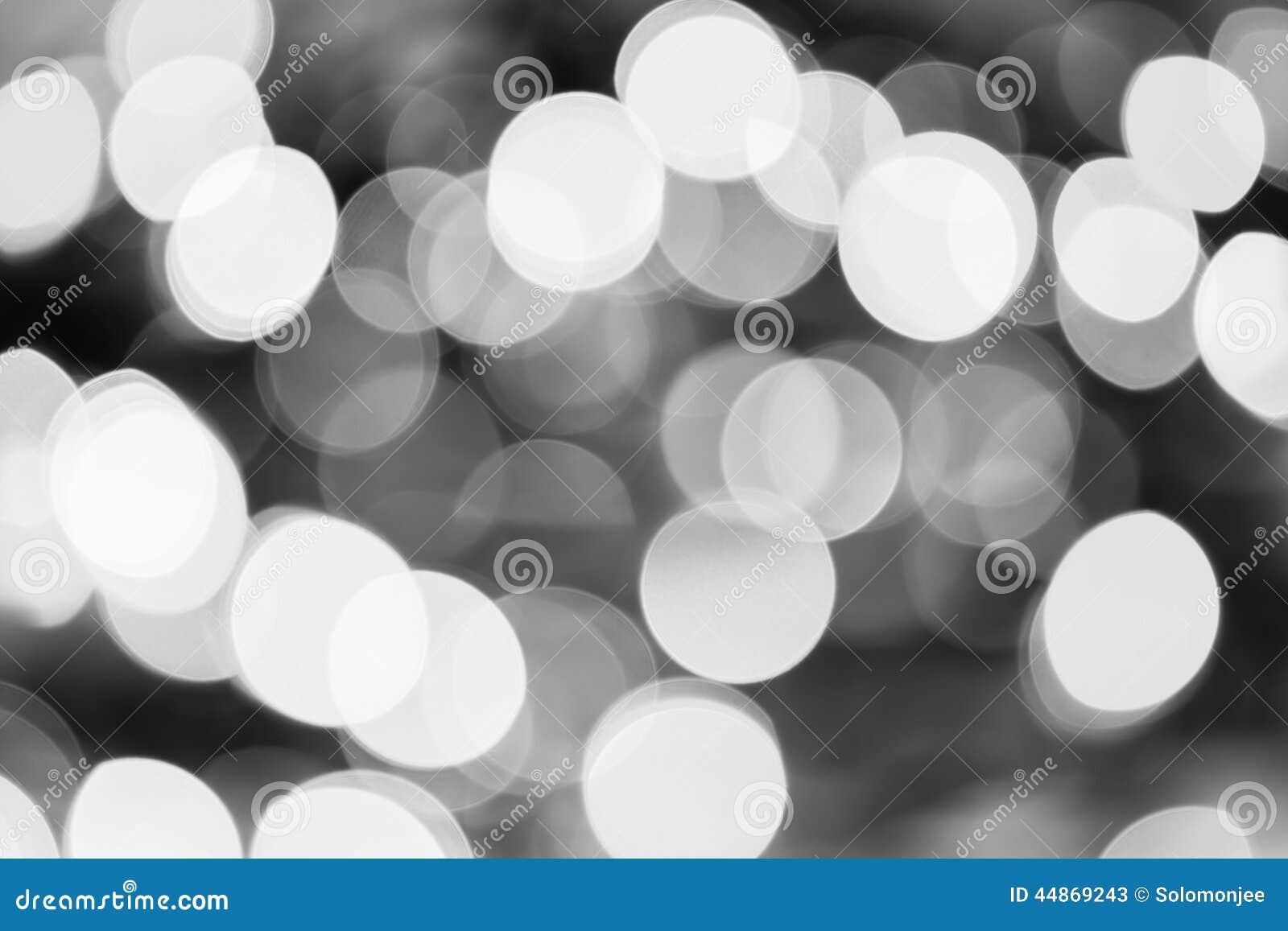 Lumi res de no l bokeh noir et blanc photo stock image - Image de noel en noir et blanc ...