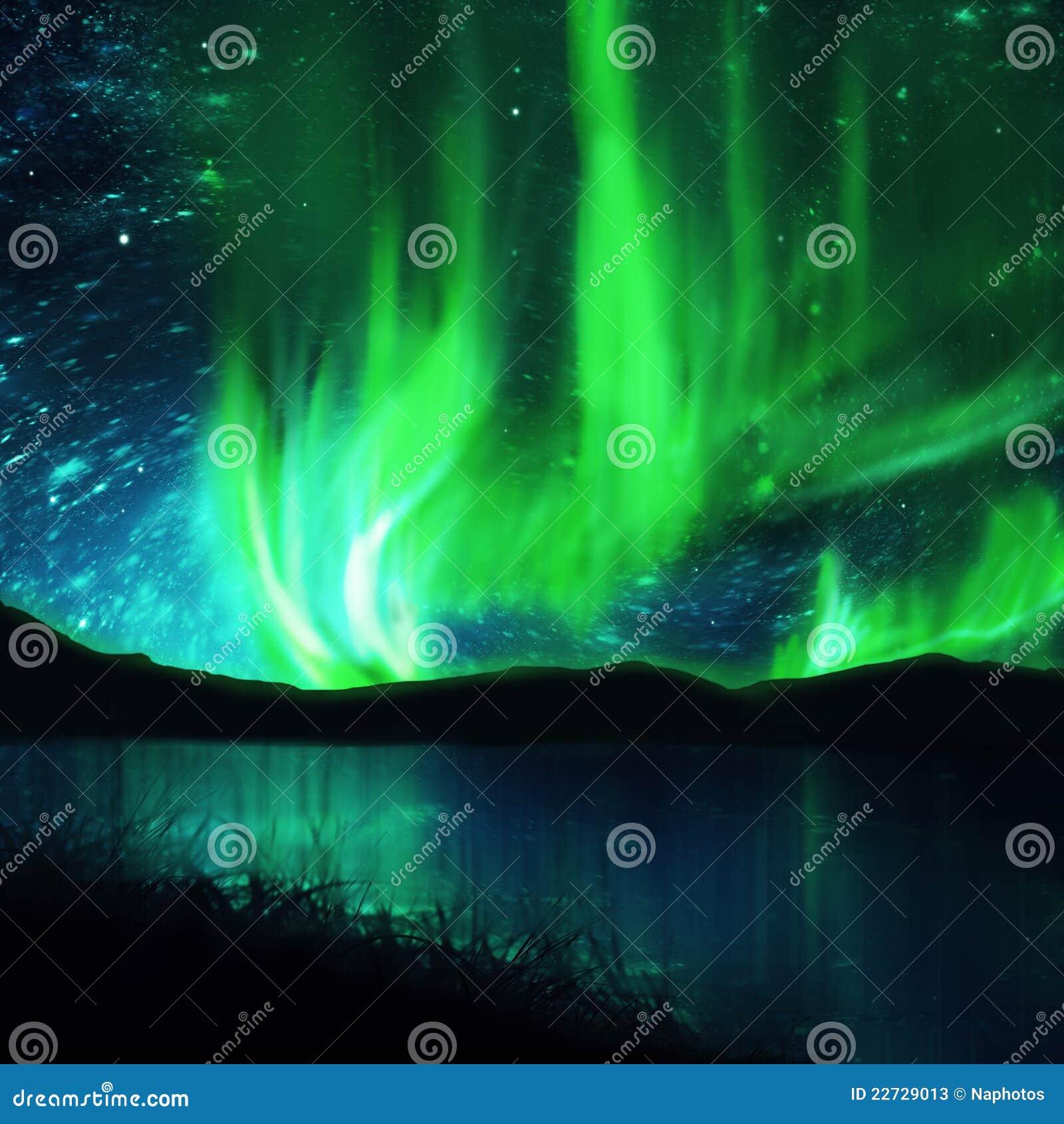 Lumières du nord, l aurore