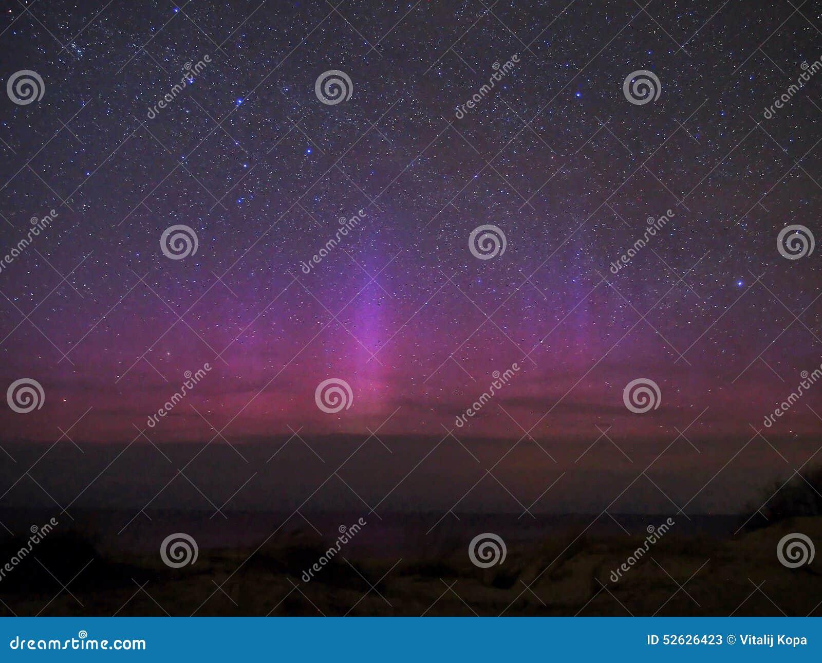 Lumières polaires de l aurore