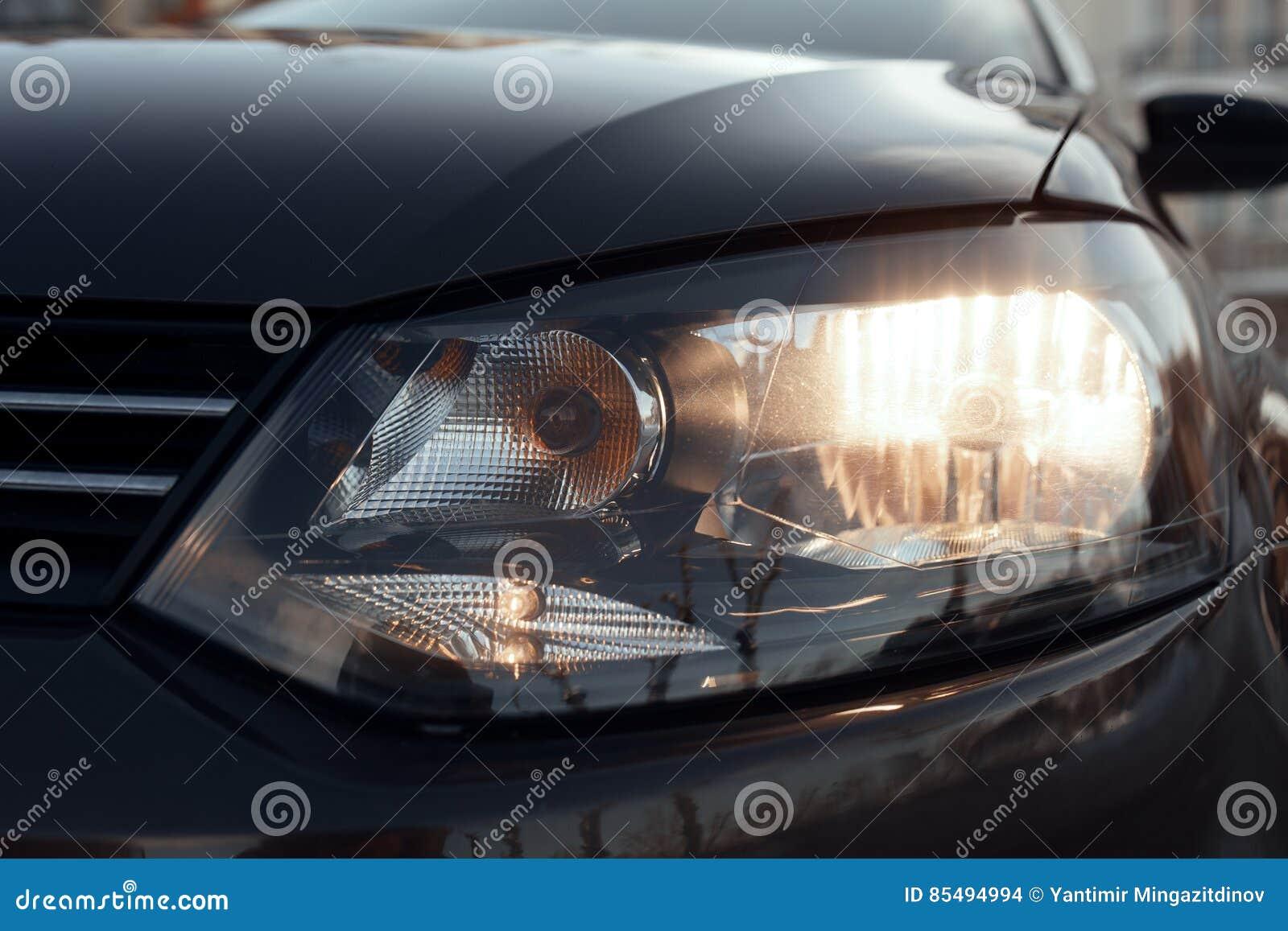 Dipped Beam Headlights : Dipped beam headlights icon vector illustration