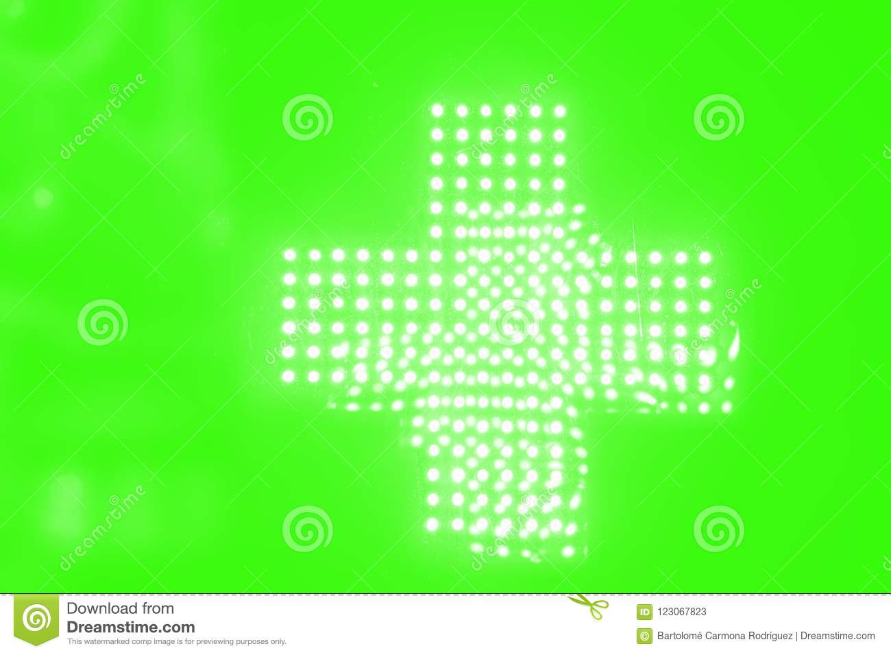 bec51f17f3ffb Luminous Made With Fluorescent Green Bright Neon Lights Stock Image ...