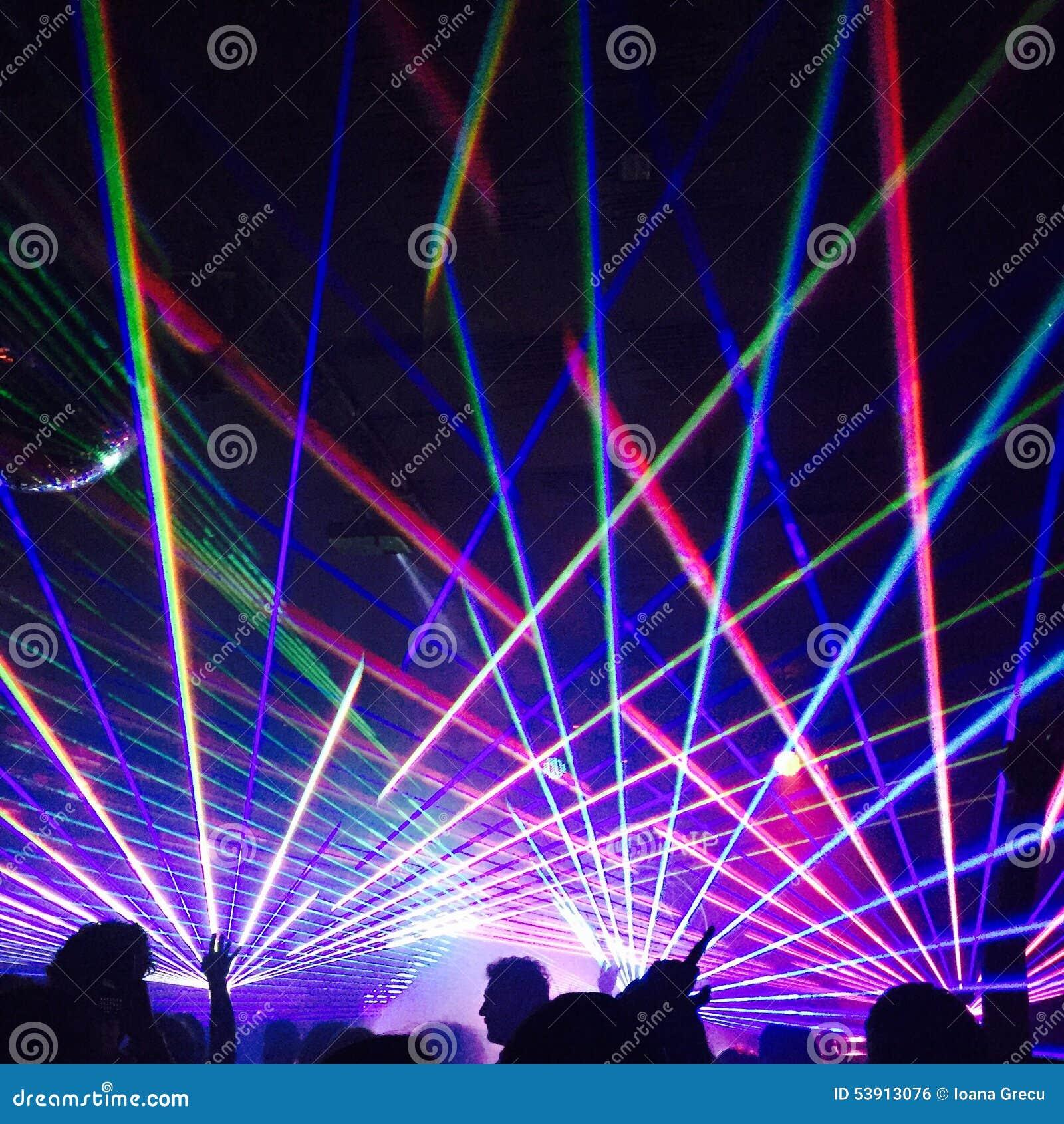 Lumi res de bo te de nuit photo ditorial image 53913076 for Exterieur boite de nuit