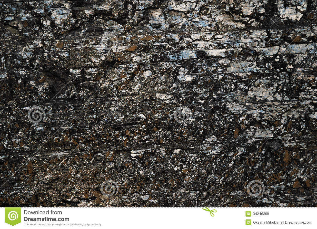Lump Of Coal Royalty Free Stock Images Image 34246399