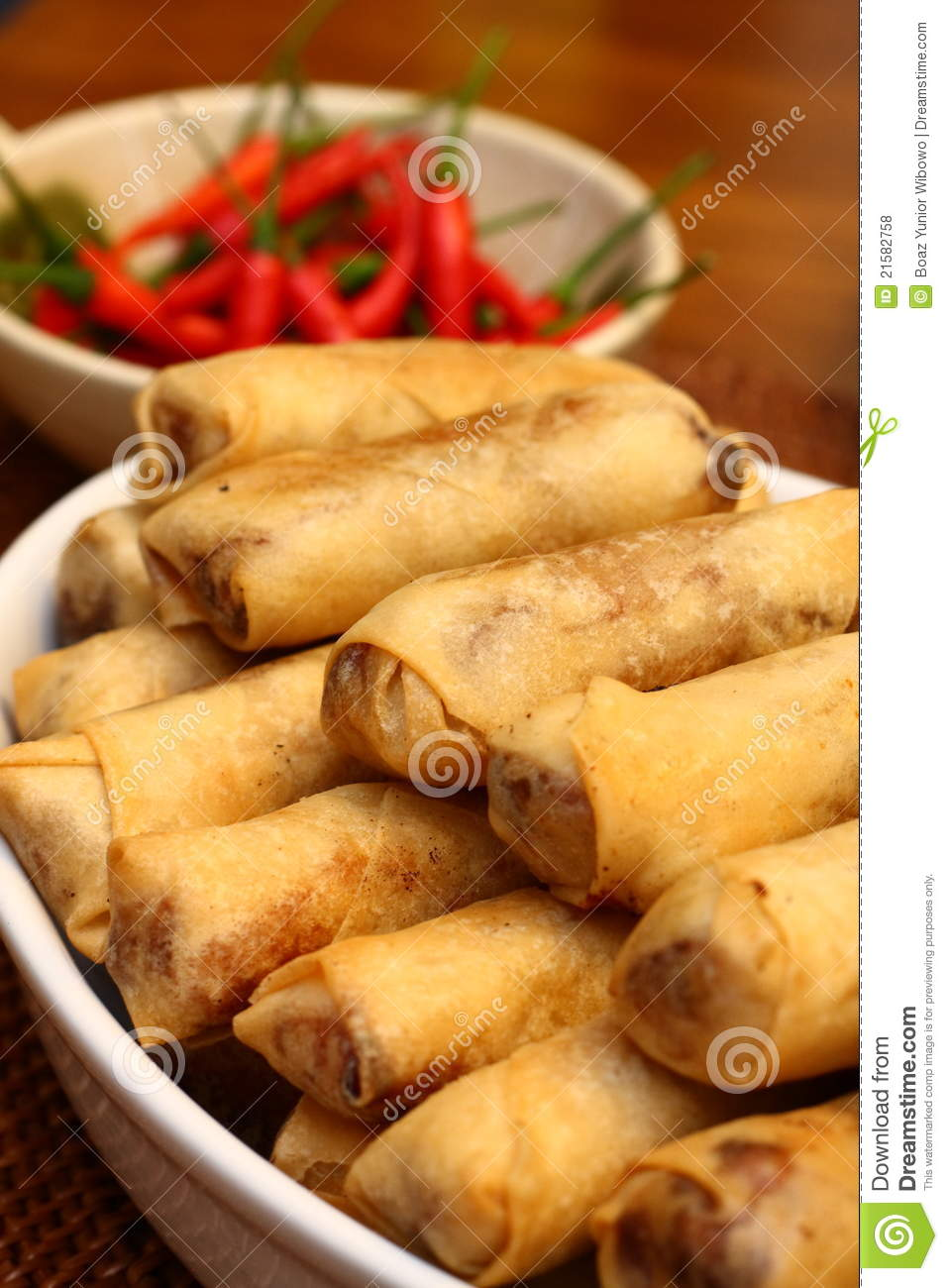 Lumpia, Indonesian Food