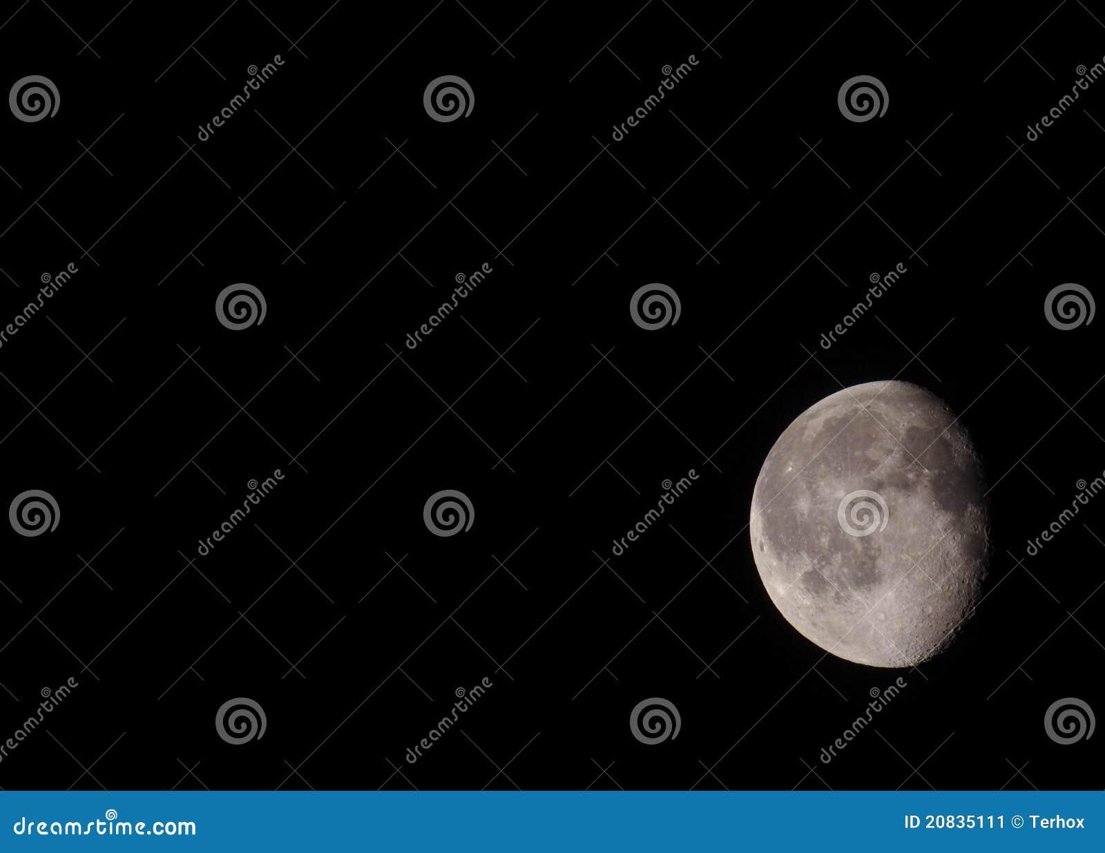 Luna de disminución