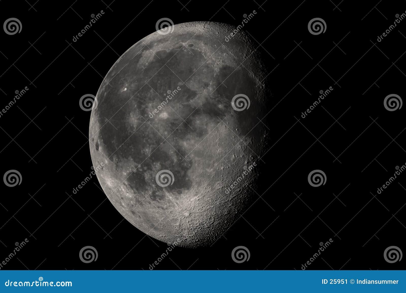 Download Luna Llena casi stock de ilustración. Ilustración de oscuro - 25951