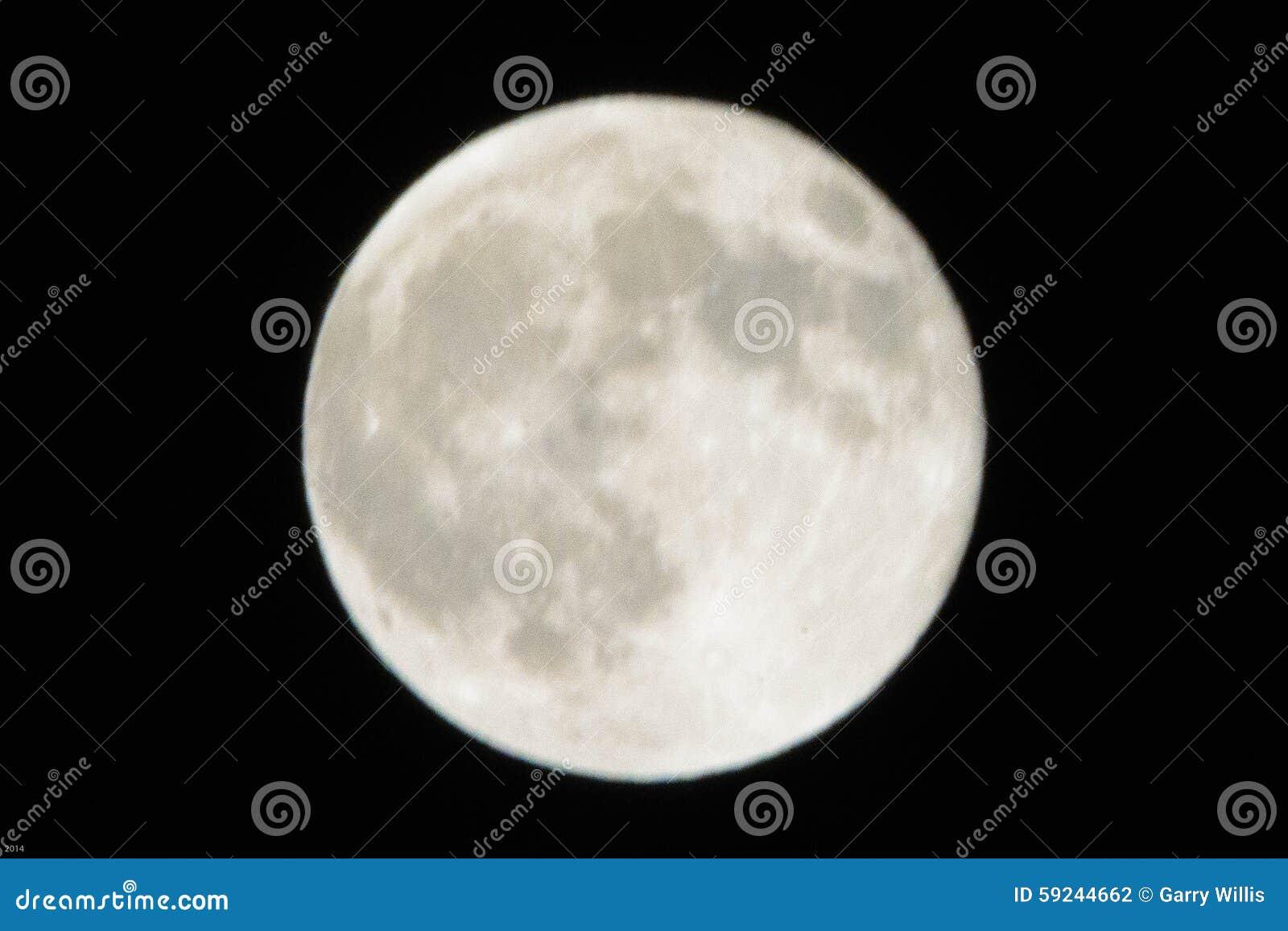 Luna Llena de Los Ángeles