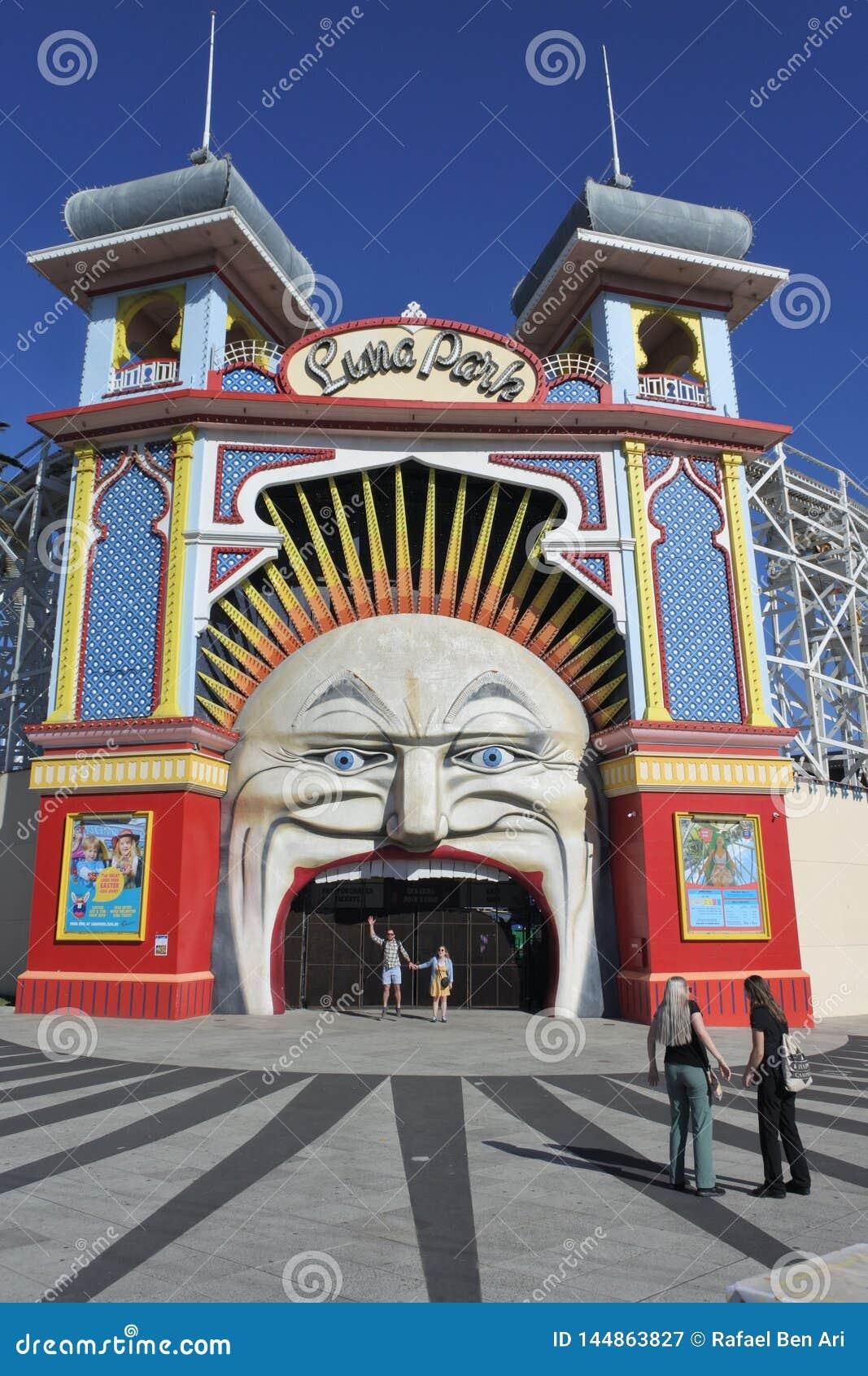 Luna Park Melbourne Victoria Australia
