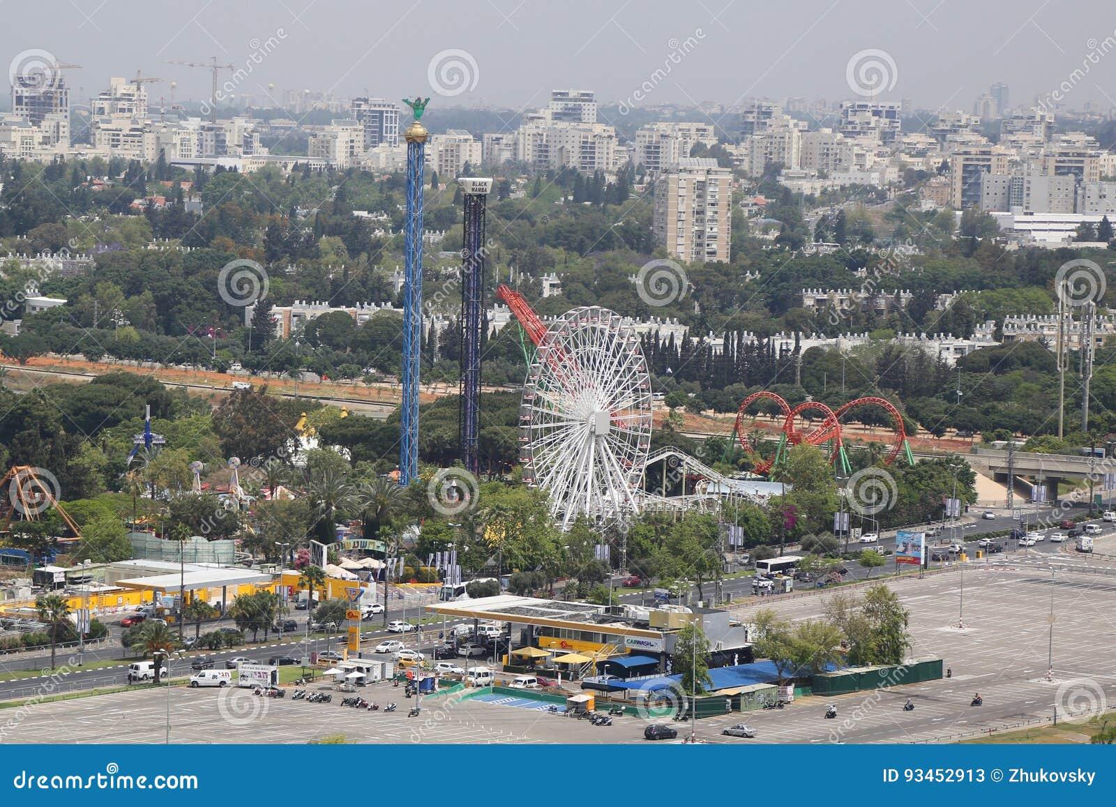 Luna Park in Tel Aviv