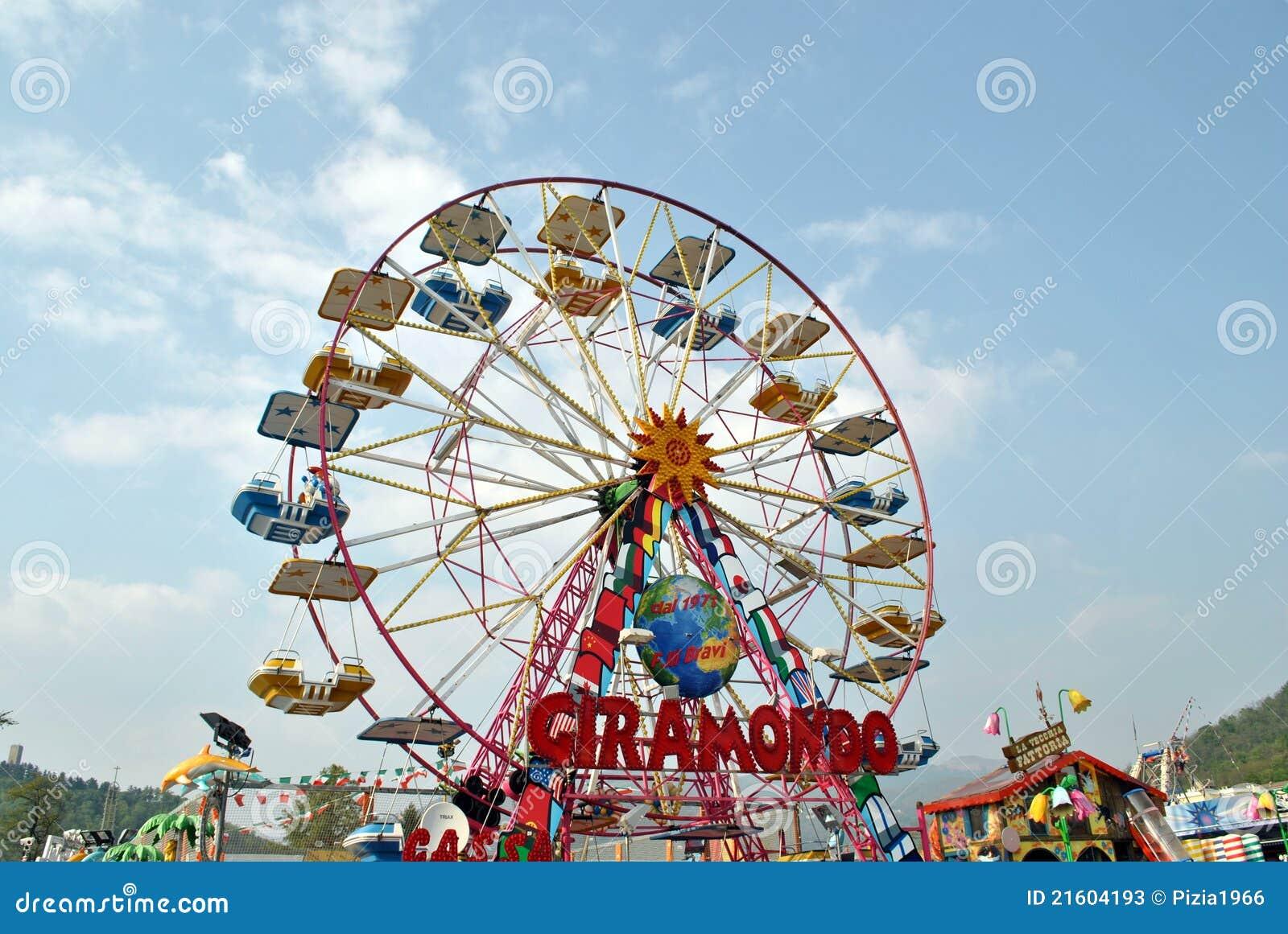 Luna Park zu Como in Italien