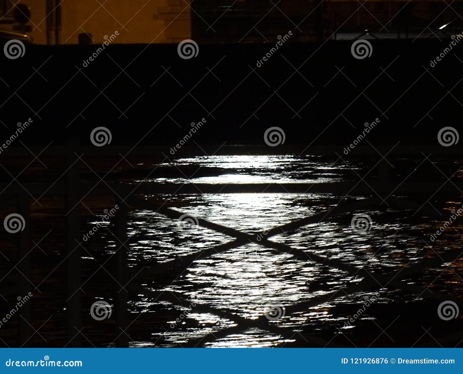 Luna sull acqua