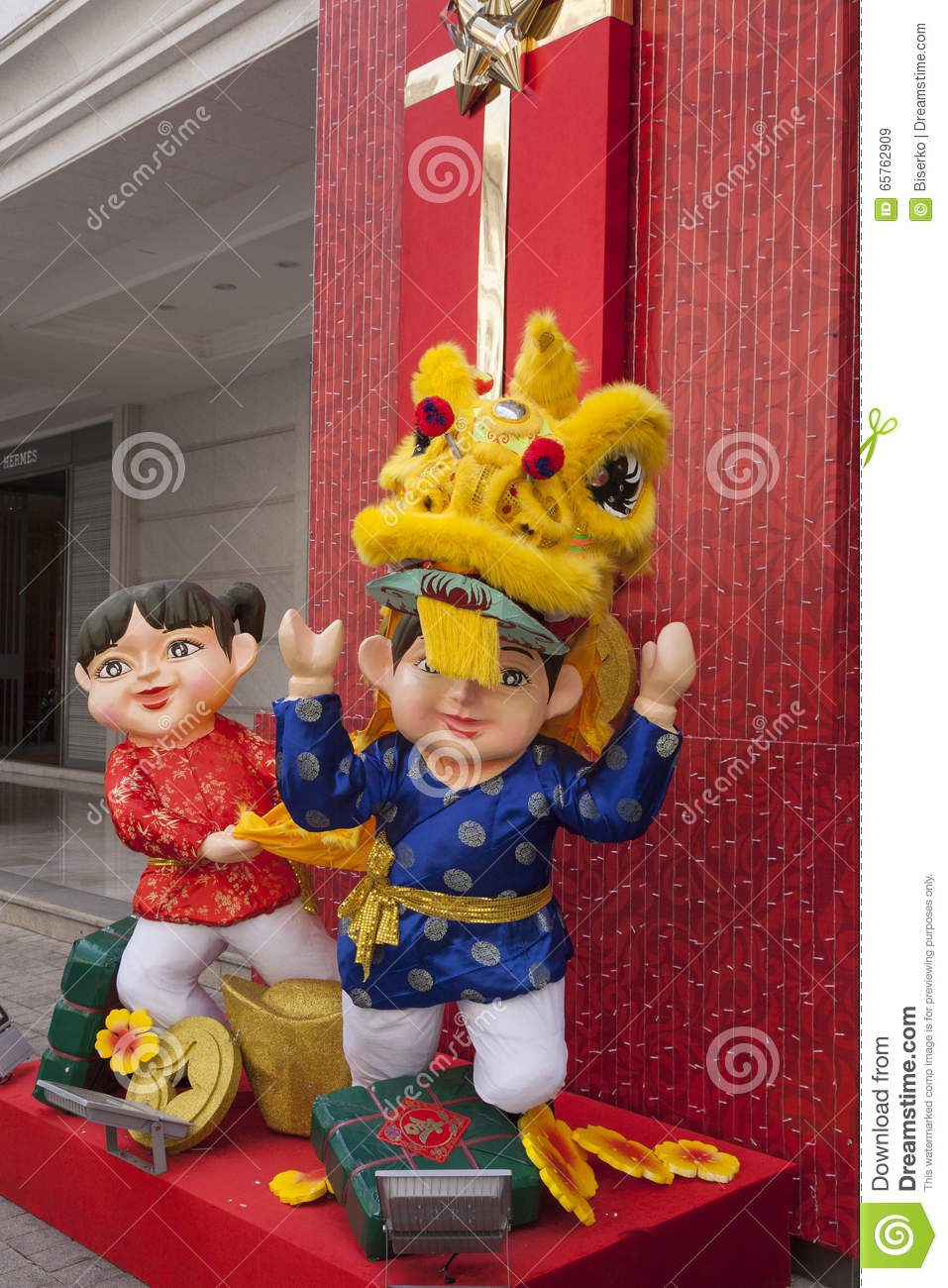 Lunar new year decorations editorial stock image image - Lunar new year decorations ...