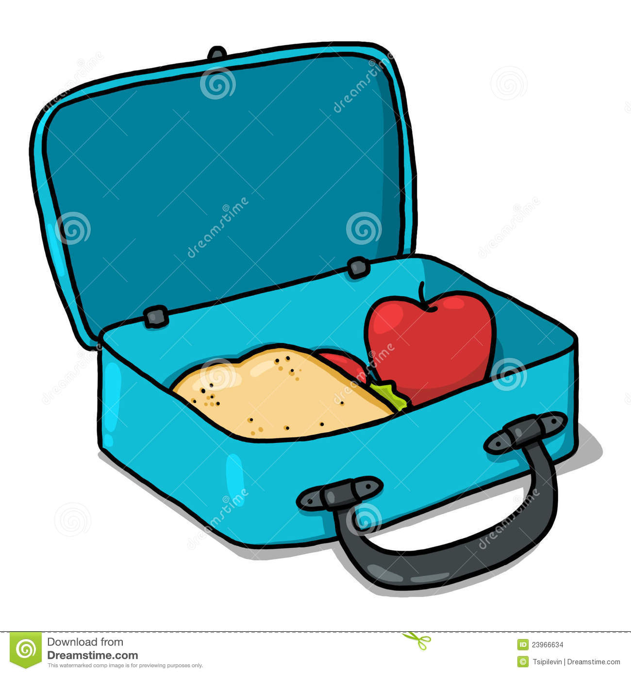 lunch bag clipart - photo #19