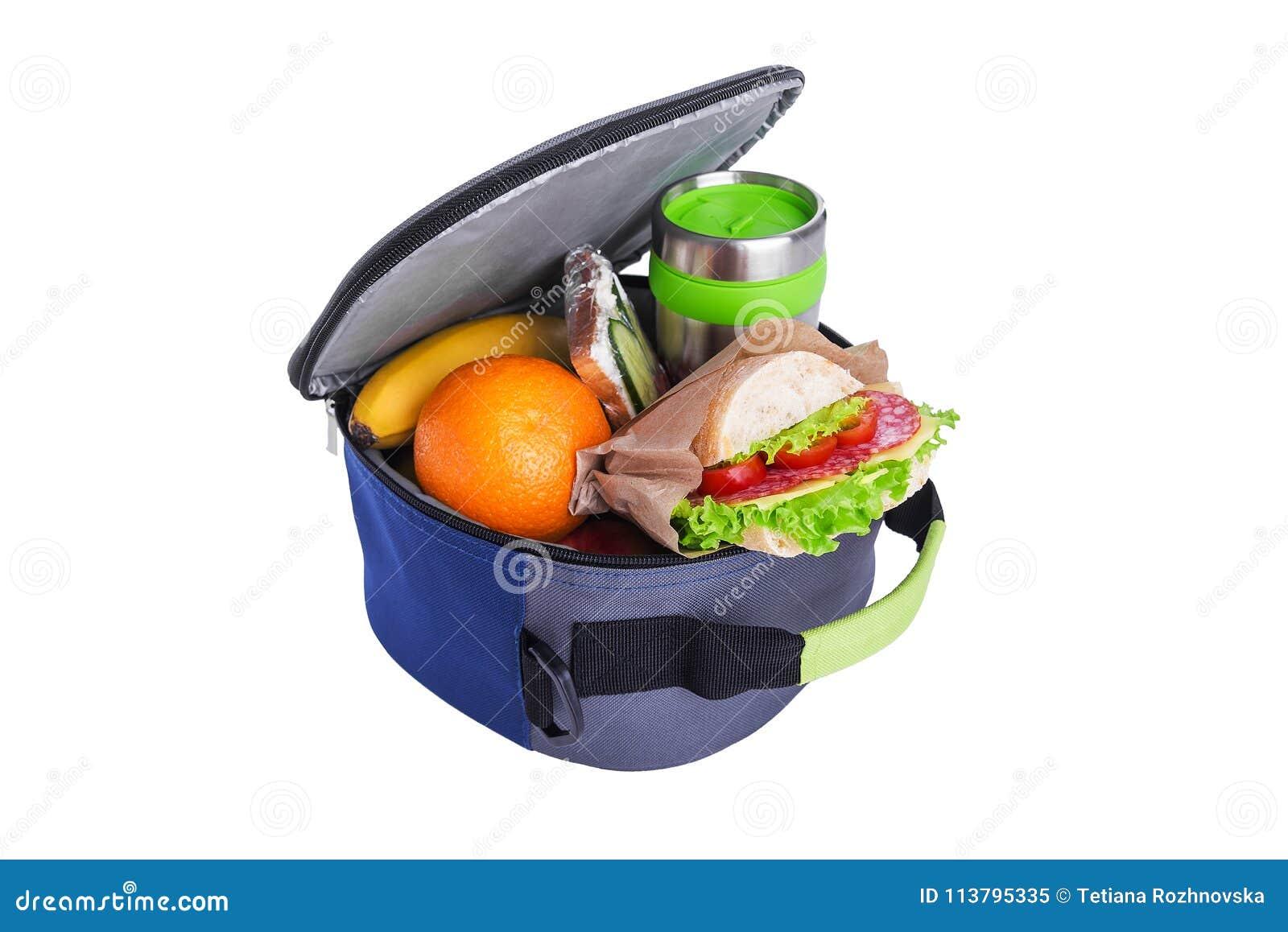 Lunch in een zak voor lunch