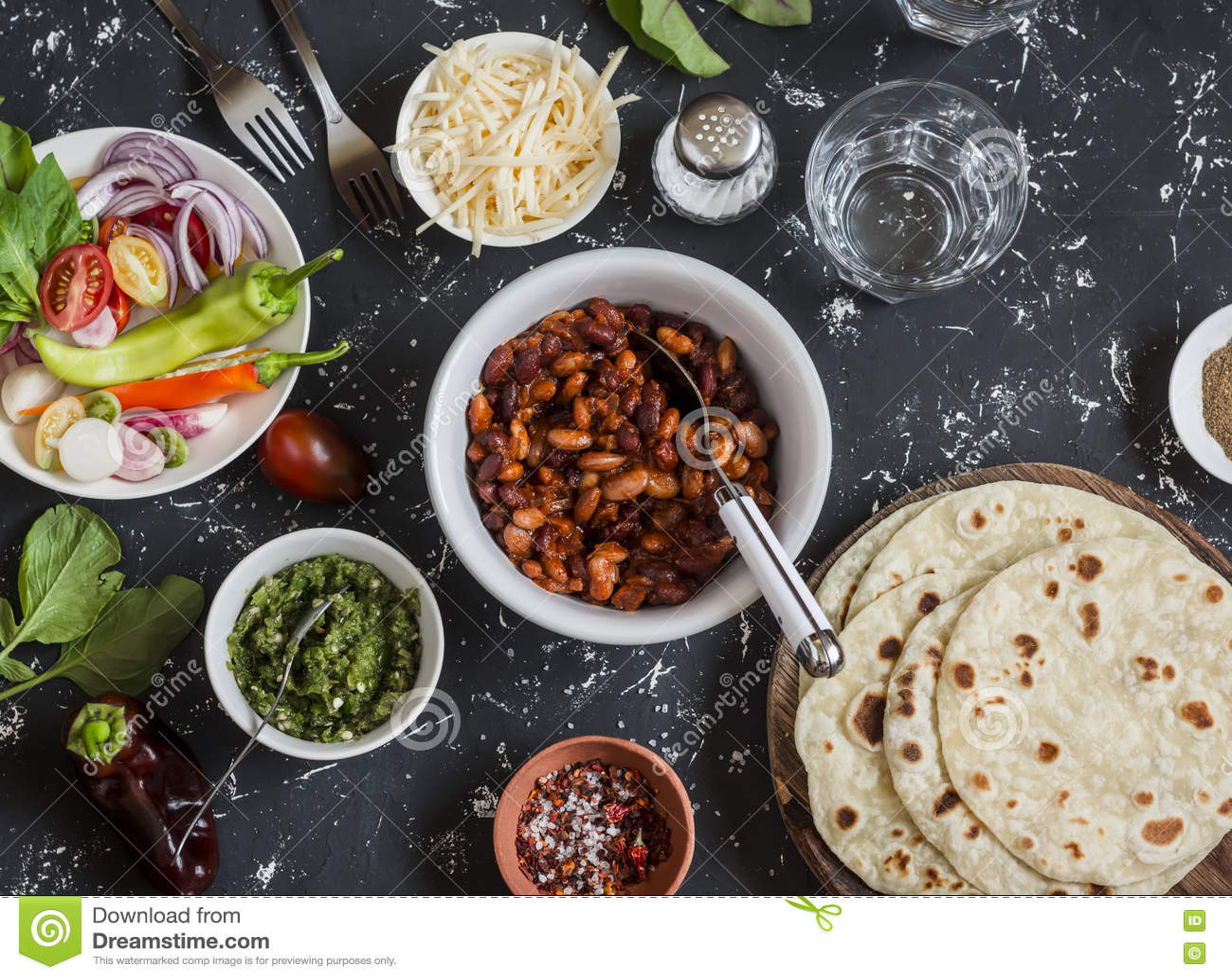 Healthy food backgroun royalty free stock photo - Green vegetarian cuisine ...