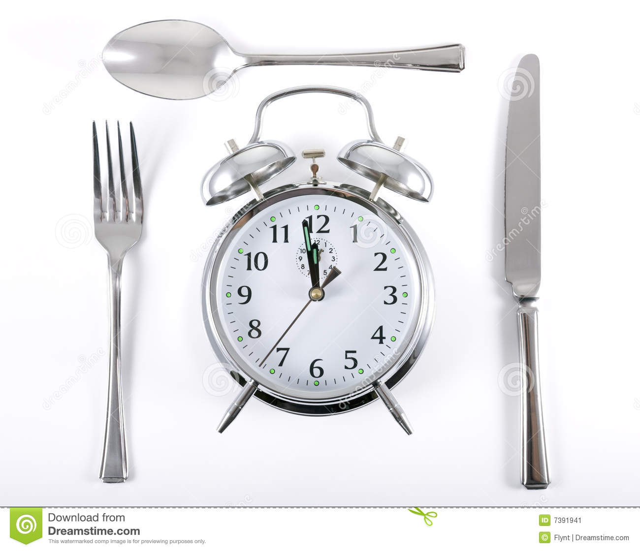 Lunch Time Stock Image Image Of Face Instrument Number
