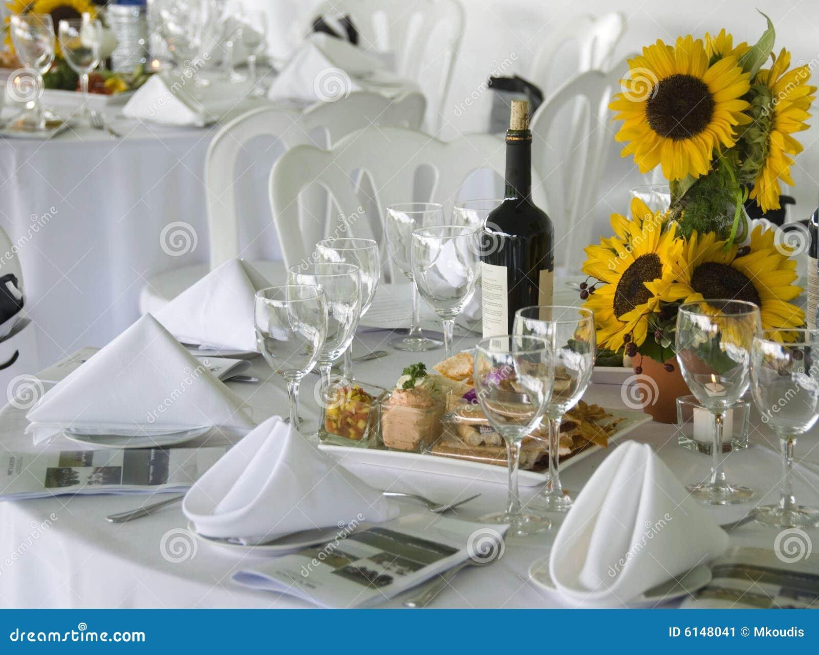 Luncheon Table Stock Image Image Of Isolated Luncheon