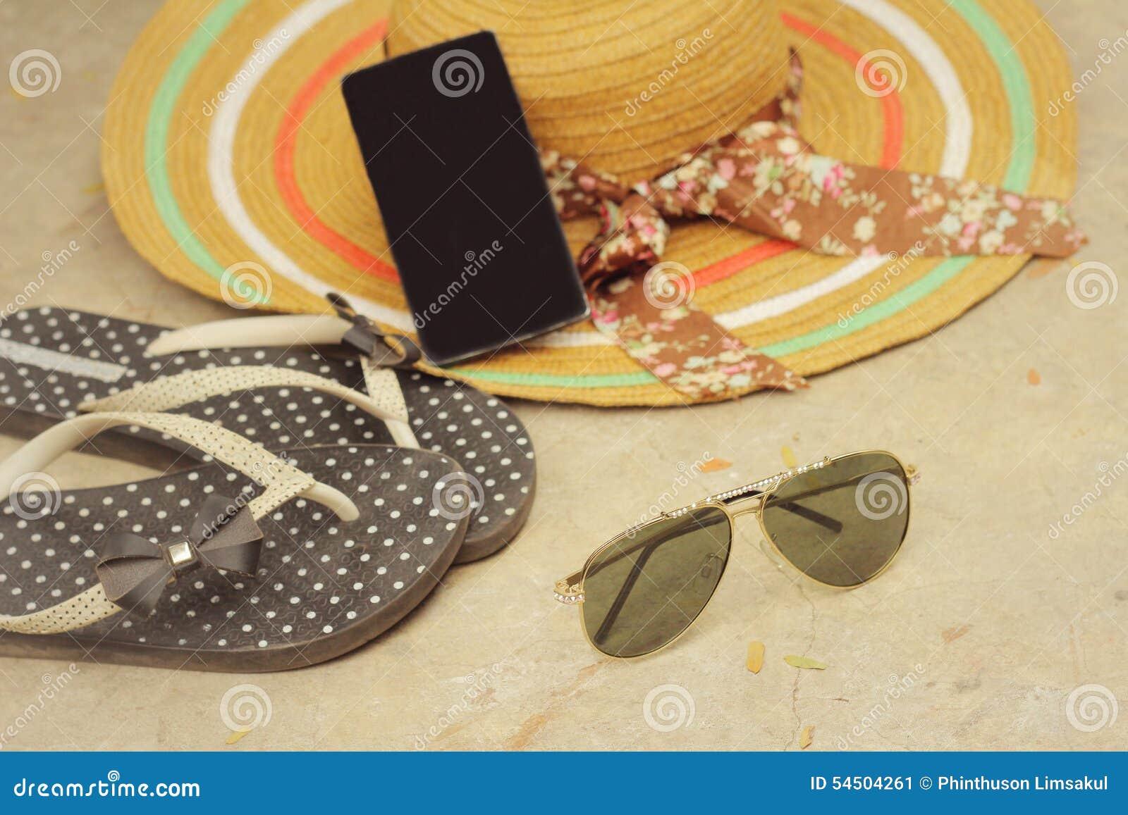 Lunettes de soleil avec l été d accessoires