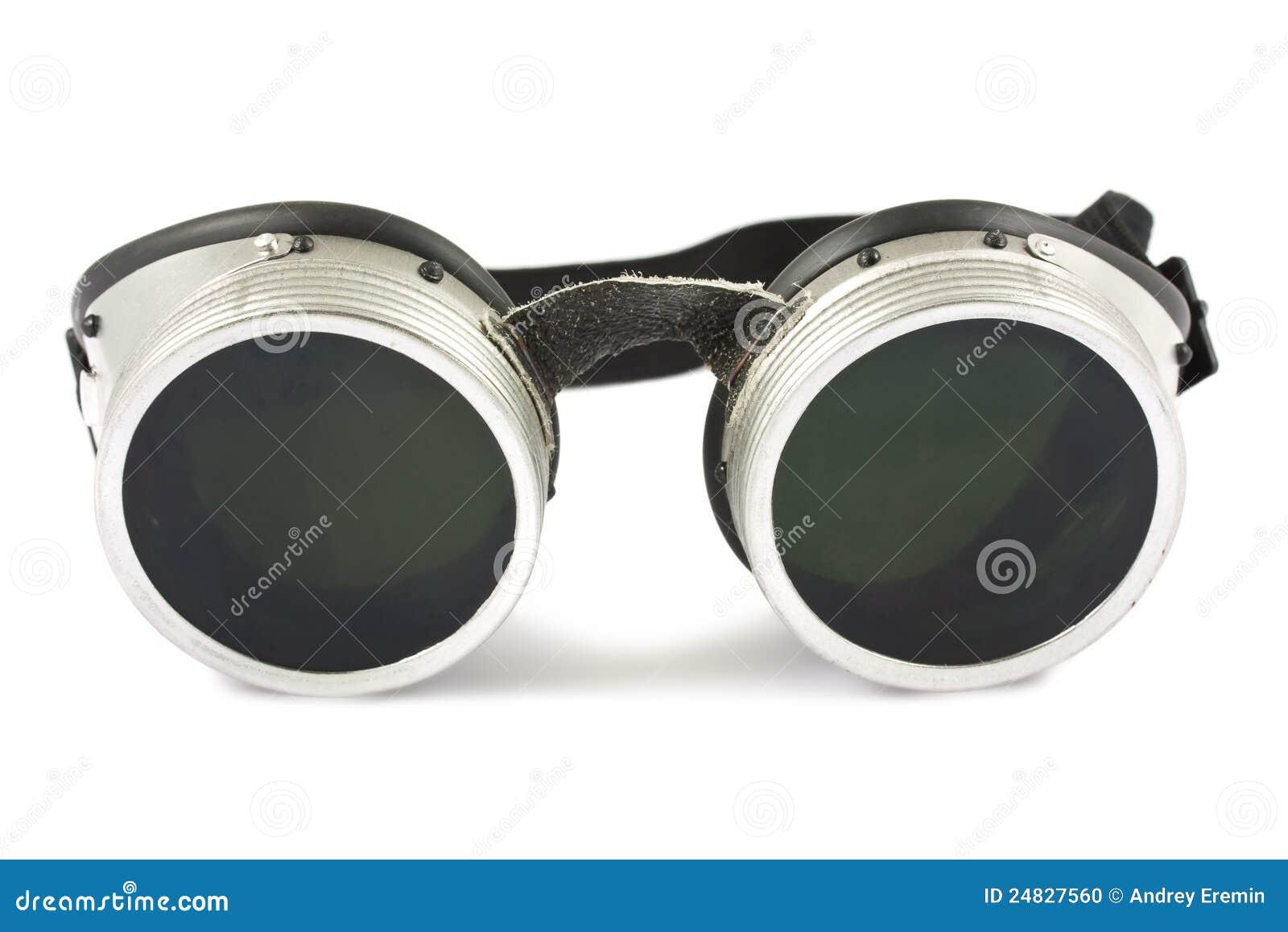 lunettes de soudure photo stock image du image noir. Black Bedroom Furniture Sets. Home Design Ideas