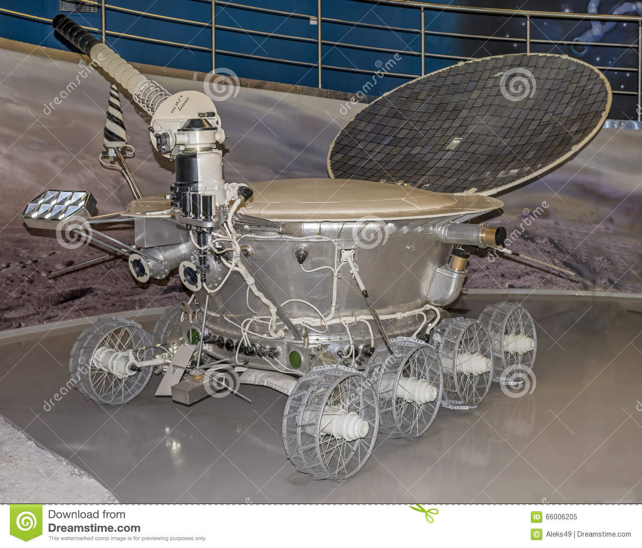 Lunokhod-1 -the first in the world automatic self-propelled unit