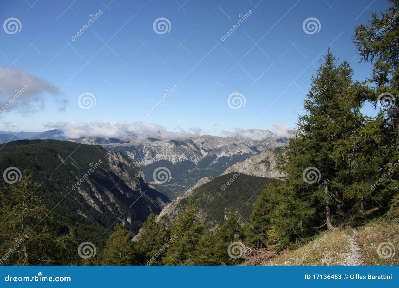 Luogo delle gole della st Pierre, Francia