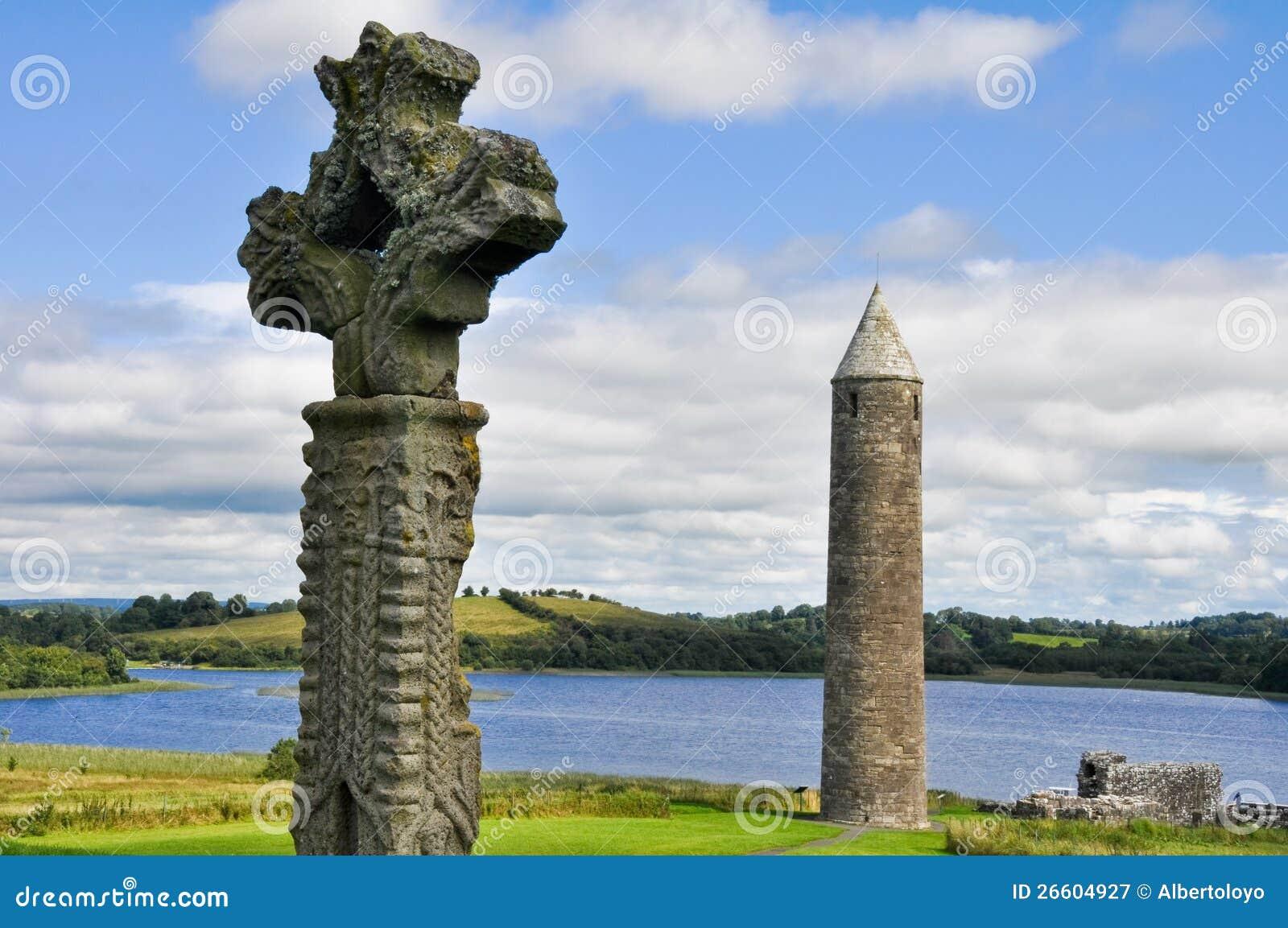 Luogo monastico dell isola di Devenish, Irlanda del nord