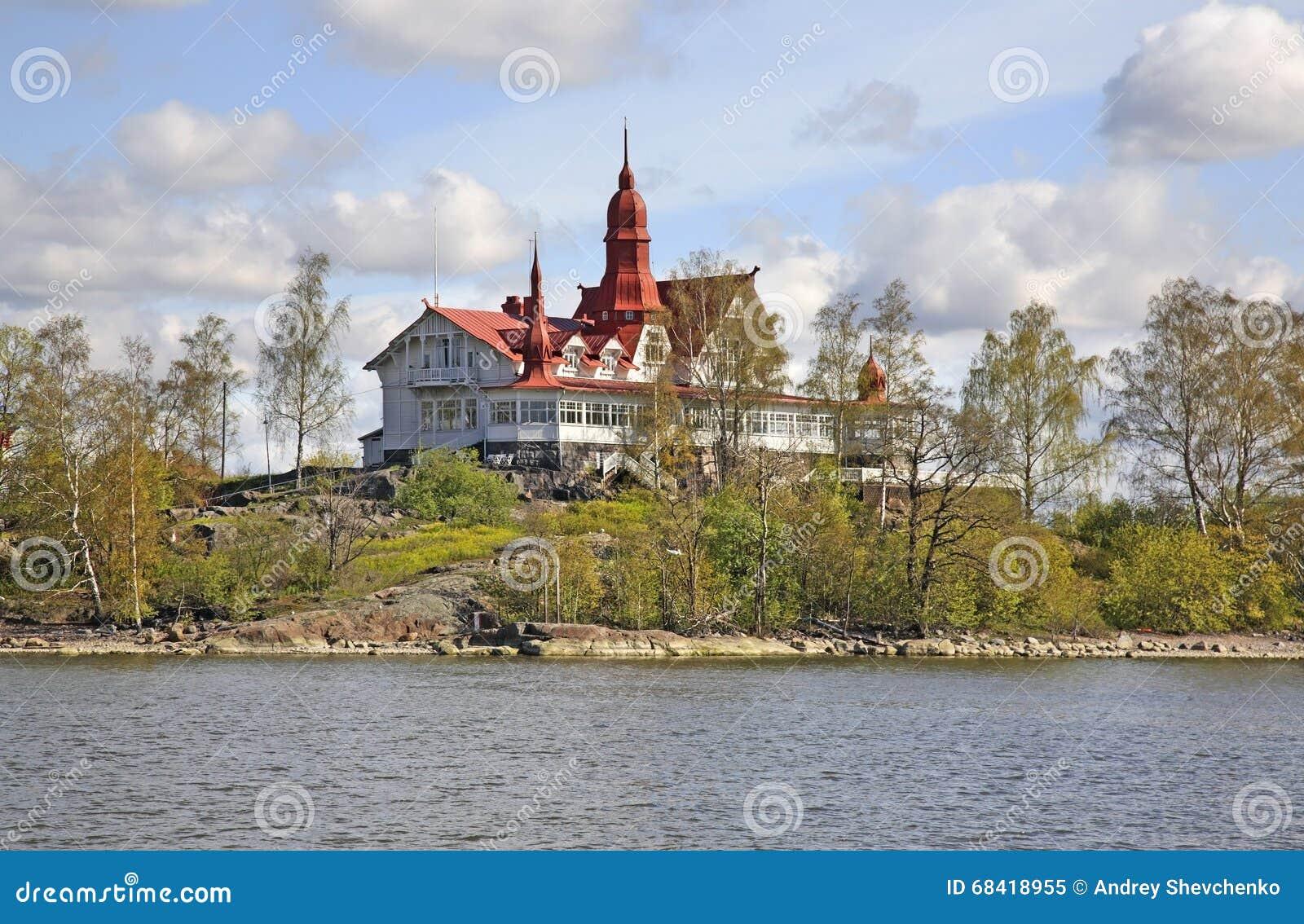 Luoto-Insel in Helsinki finnland