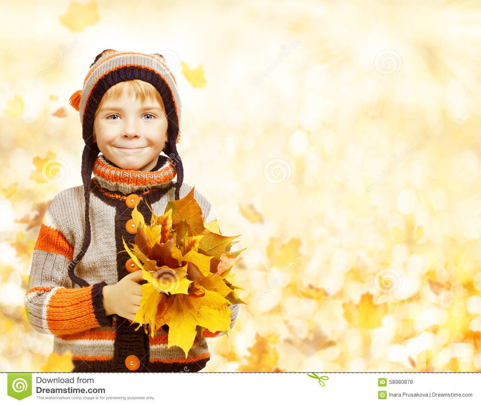 Lura Autumn Fashion Season, barn i hattomslagskläder, pojkeintelligens