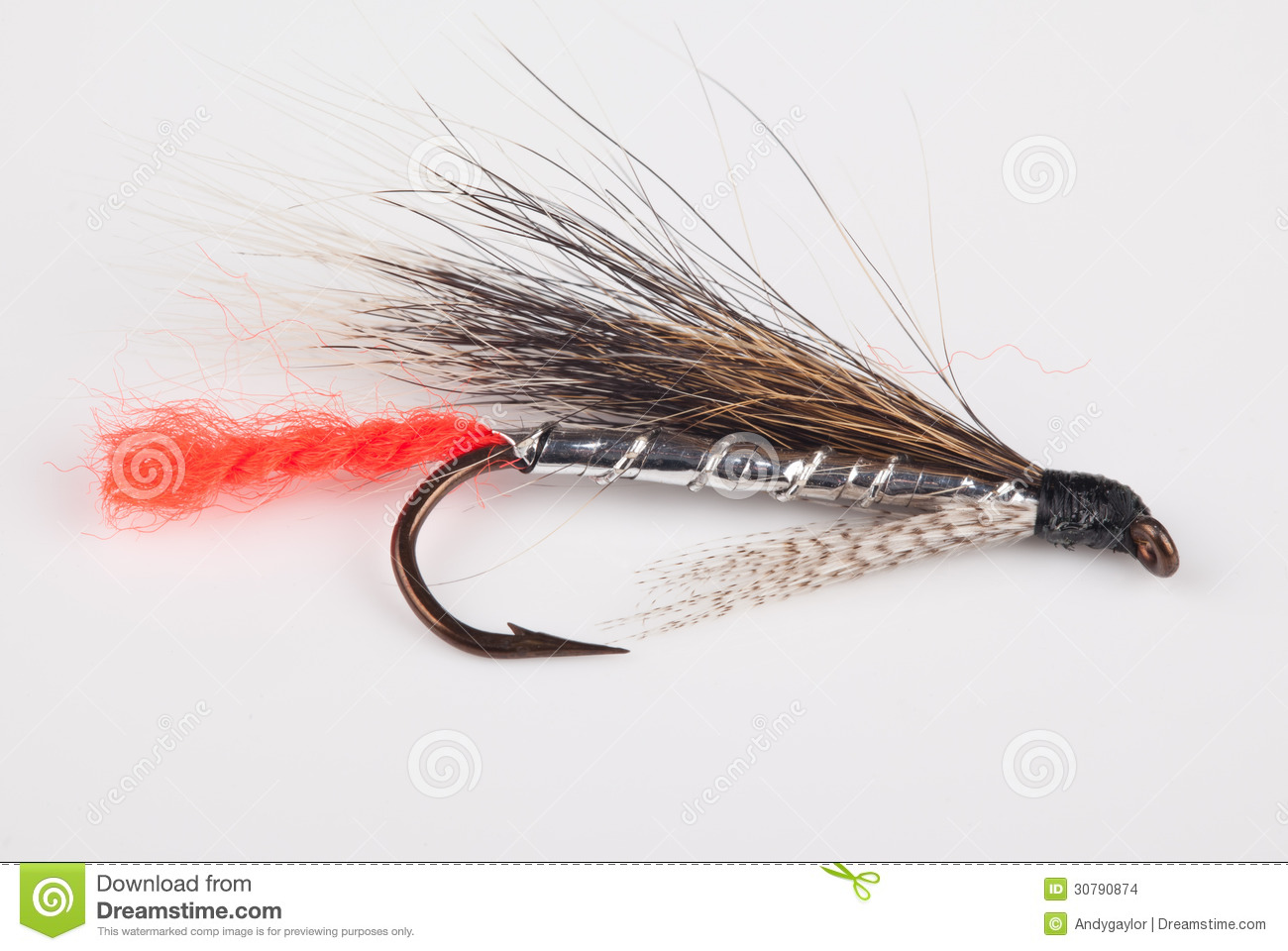 Fishing lure background for Fly fishing lure