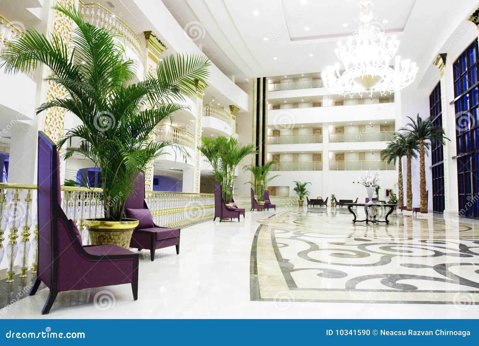 Hotel Di Lusso Interni : Lusso interno dellingresso del kemer dellhotel moderno fotografia