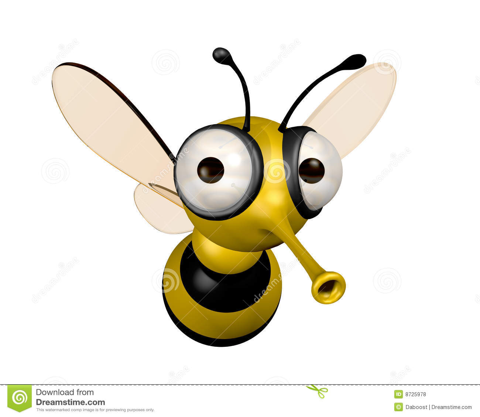 Lustige Biene