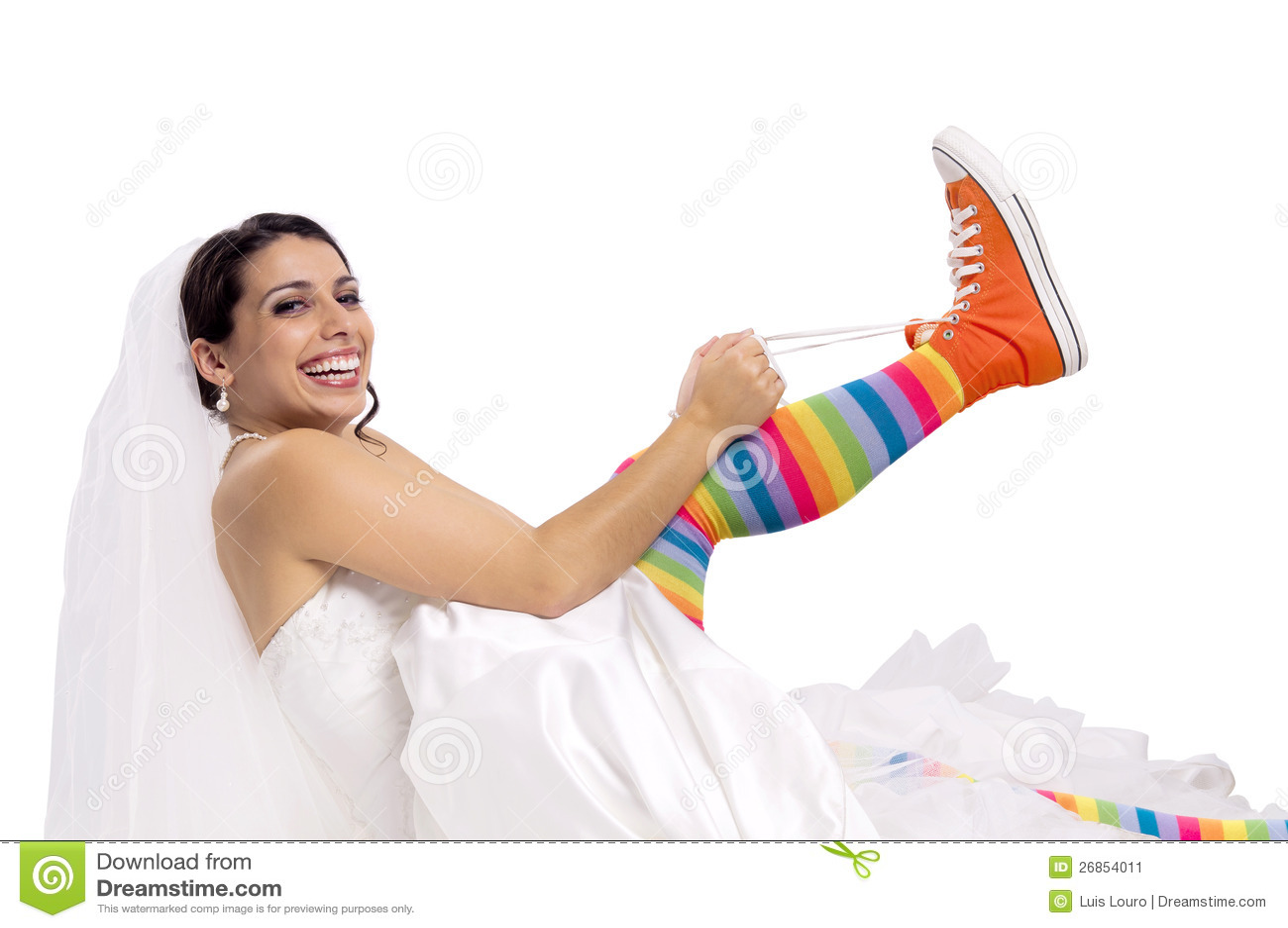 Lustige Brautschuhe Stockbild Bild Von Schonheit Eleganz 26854011