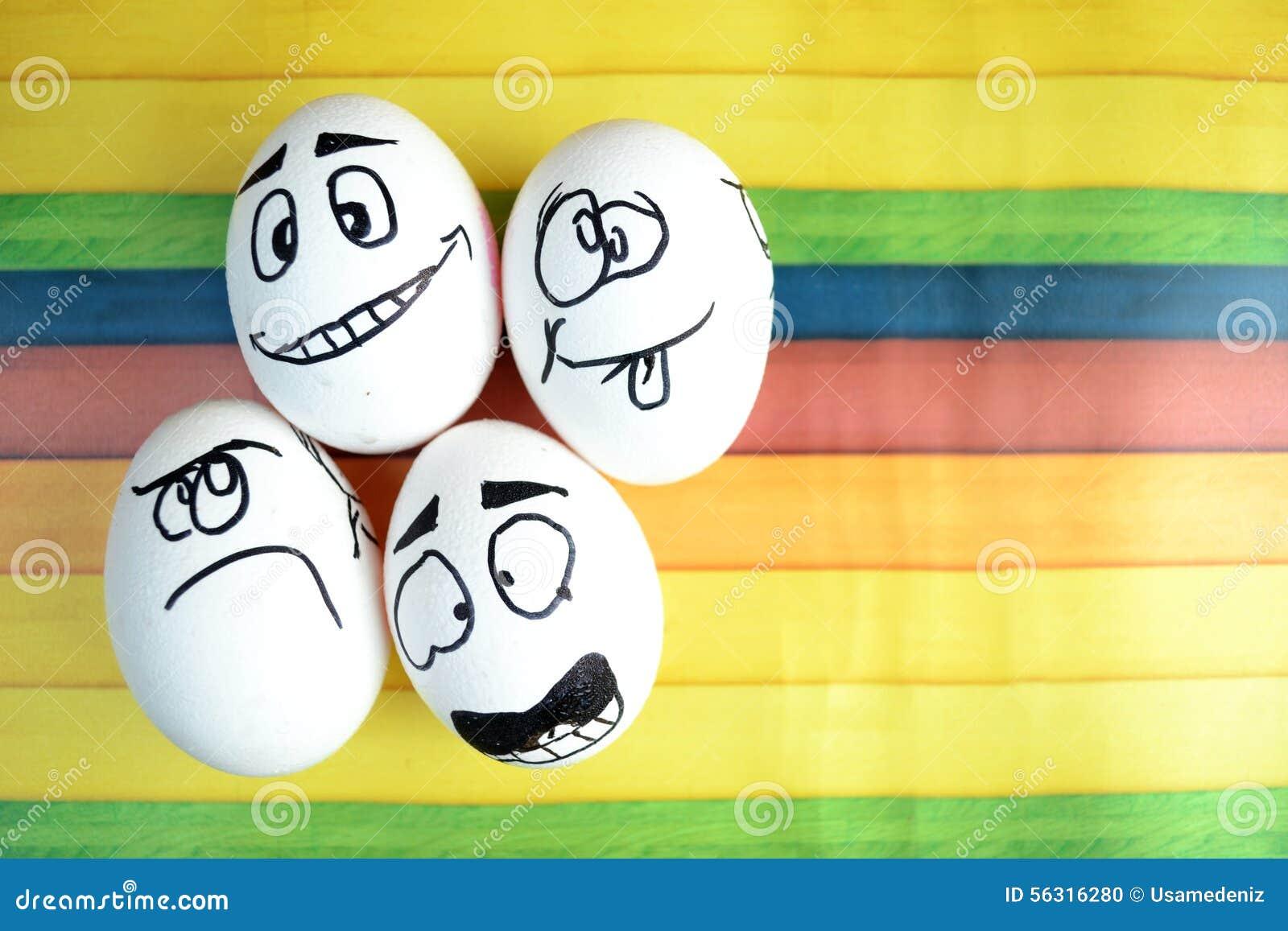lustige eier stock abbildung bild 56316280. Black Bedroom Furniture Sets. Home Design Ideas