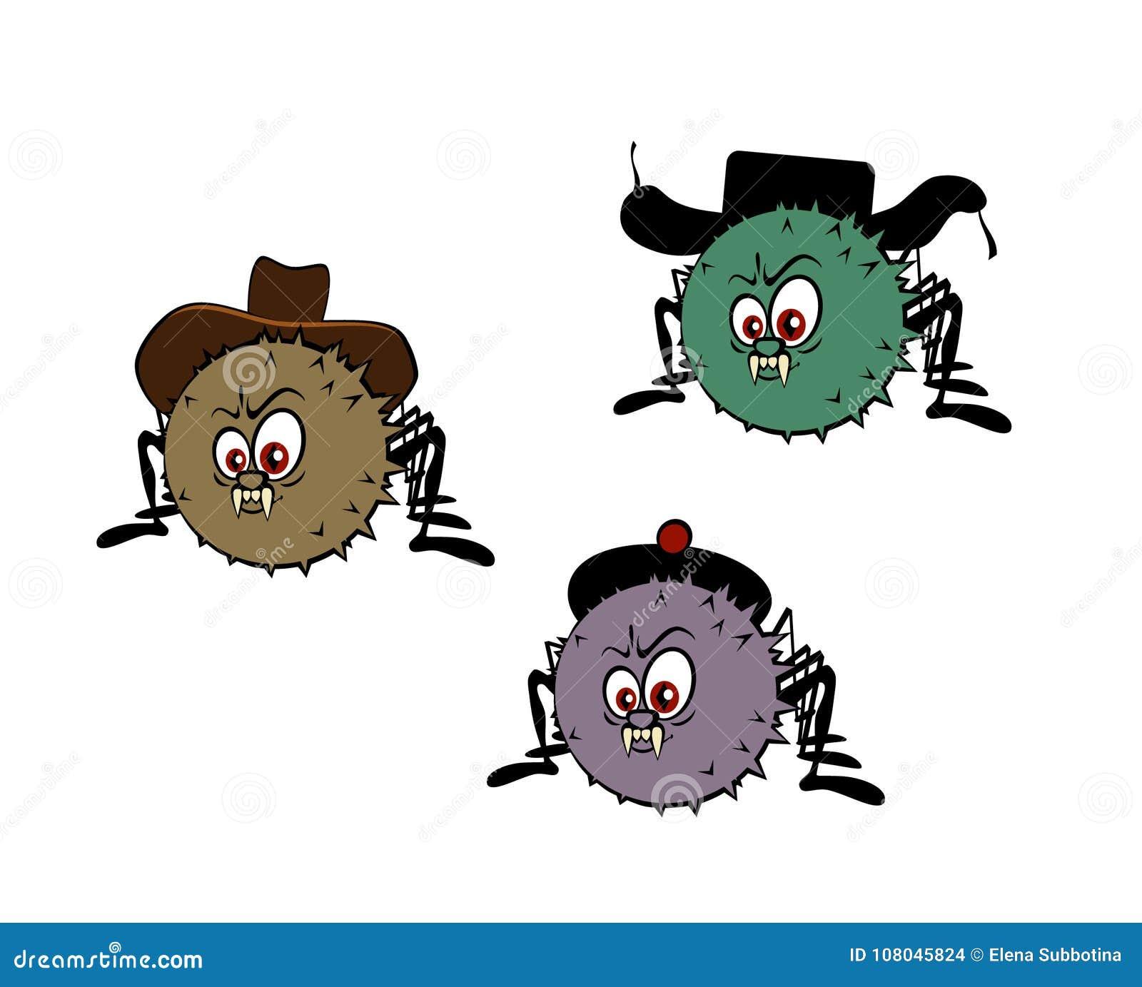 Lustige Spinnen Bilder