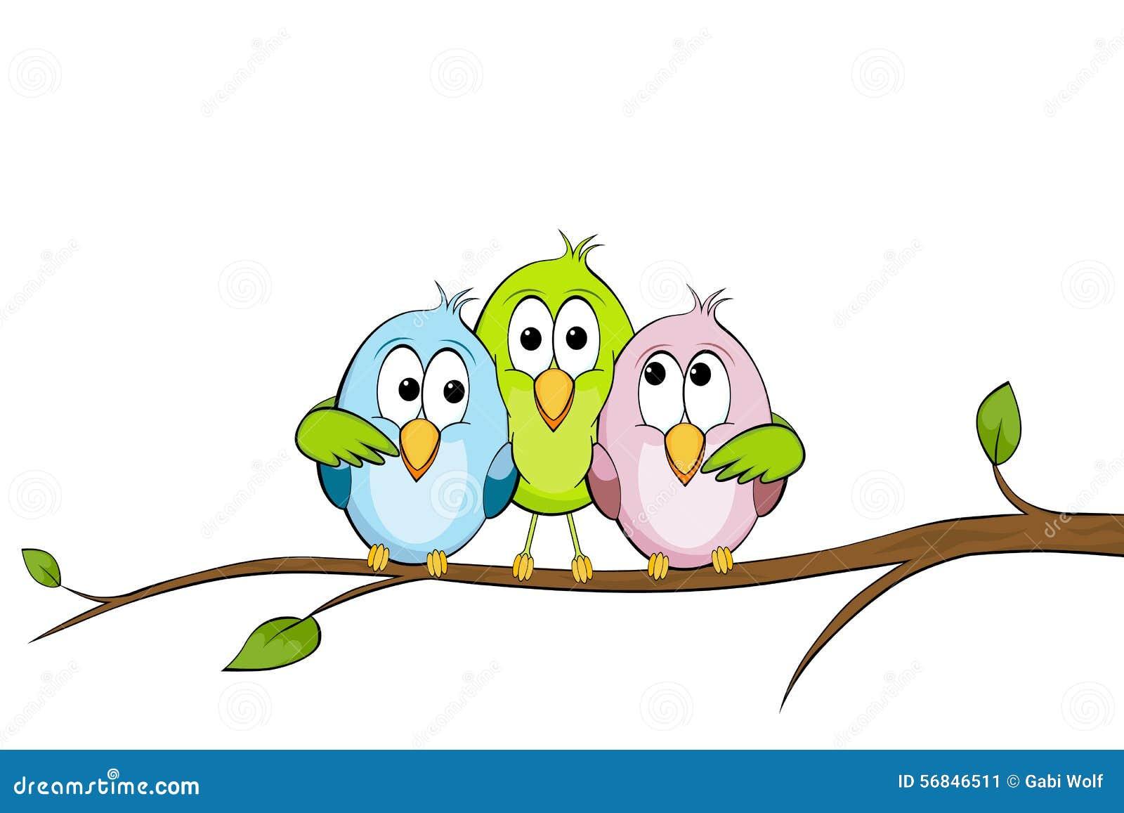 Lustige Vogel Vektor Abbildung Illustration Von Birdie 56846511