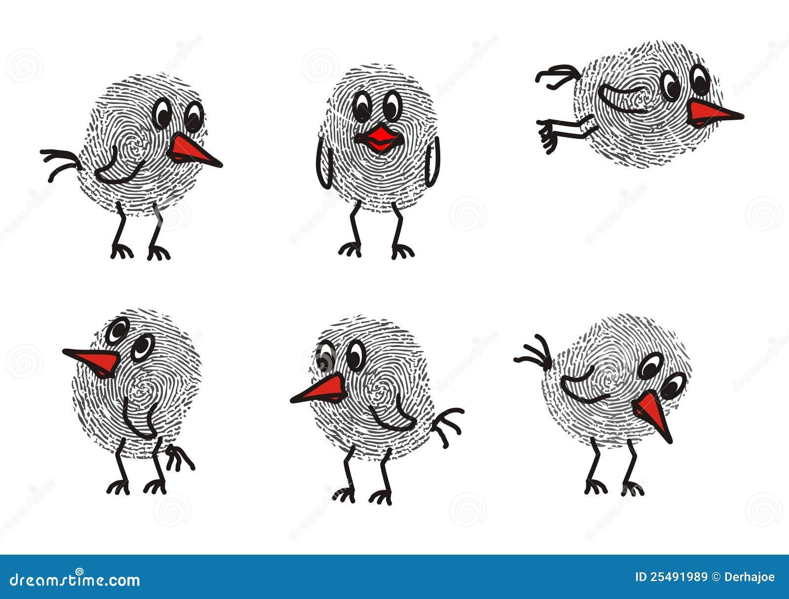 Fingerabdruck Tiere