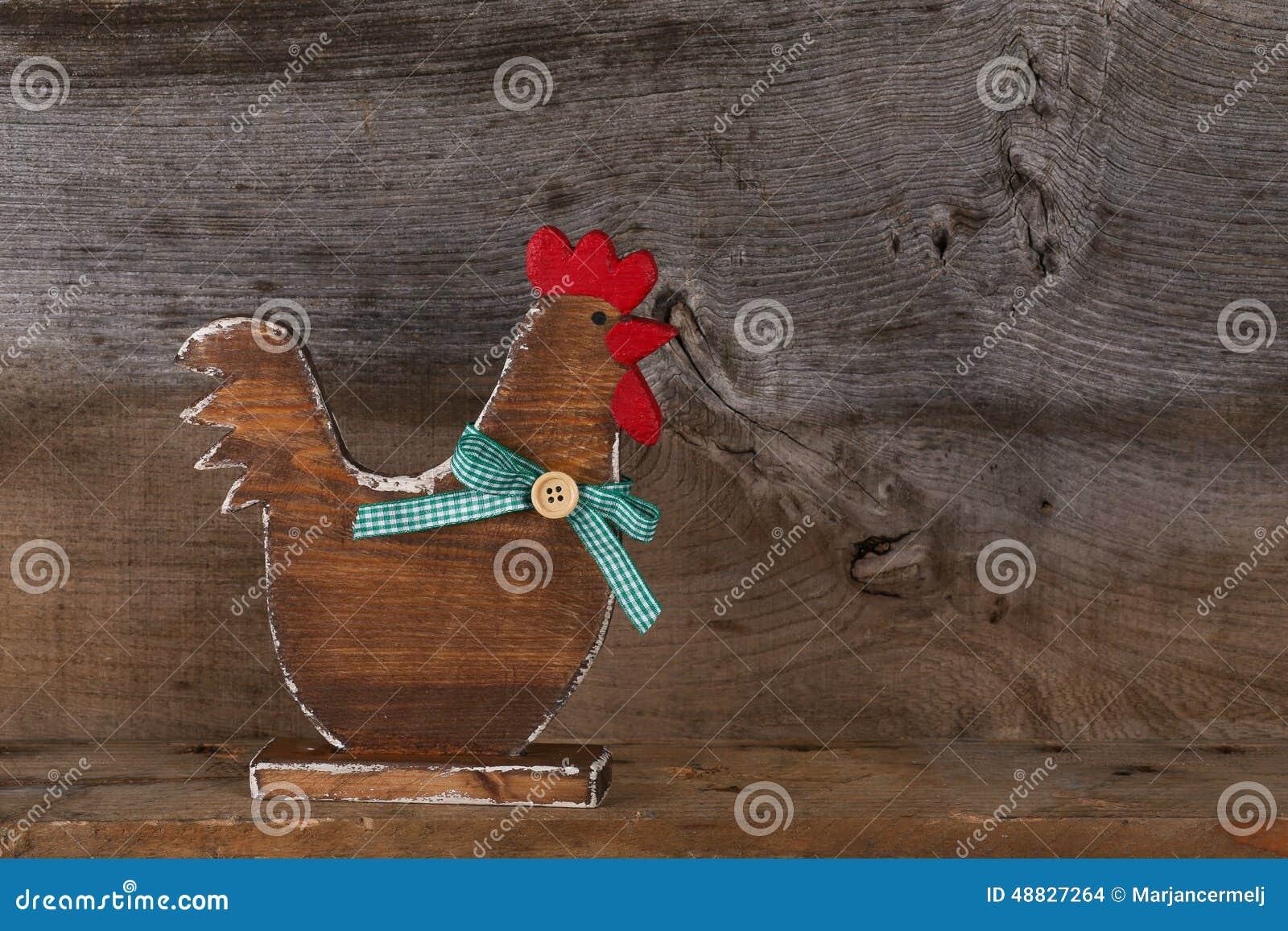Lustige Willkommene Huhnerhahn Land Hauschen Kuchen Holz