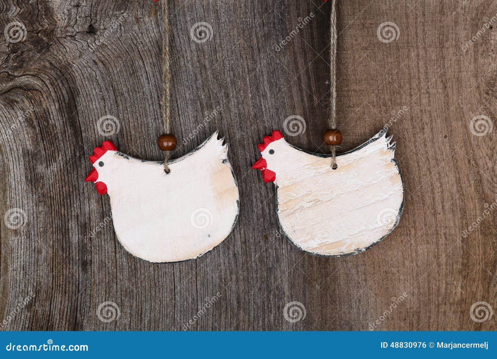 Lustige Willkommene Weisse Huhnerland Hauschen Kuchen Holzerne Form D