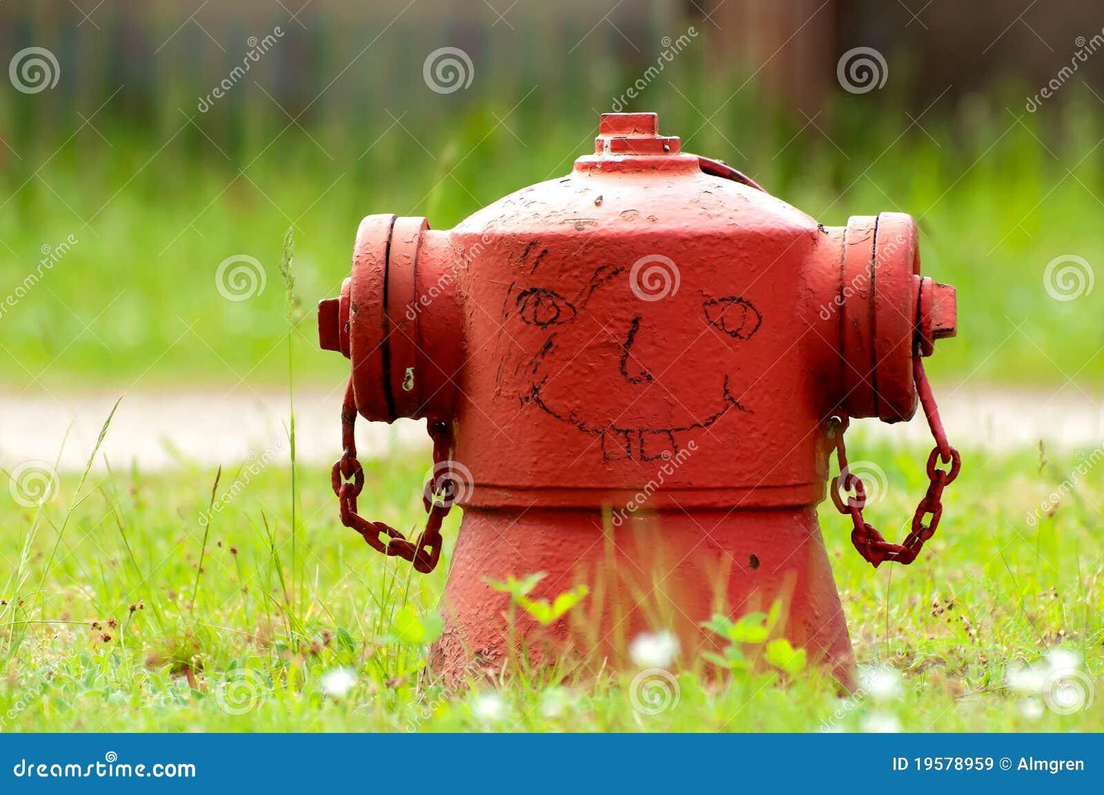 Lustiger Feuer-Hydrant